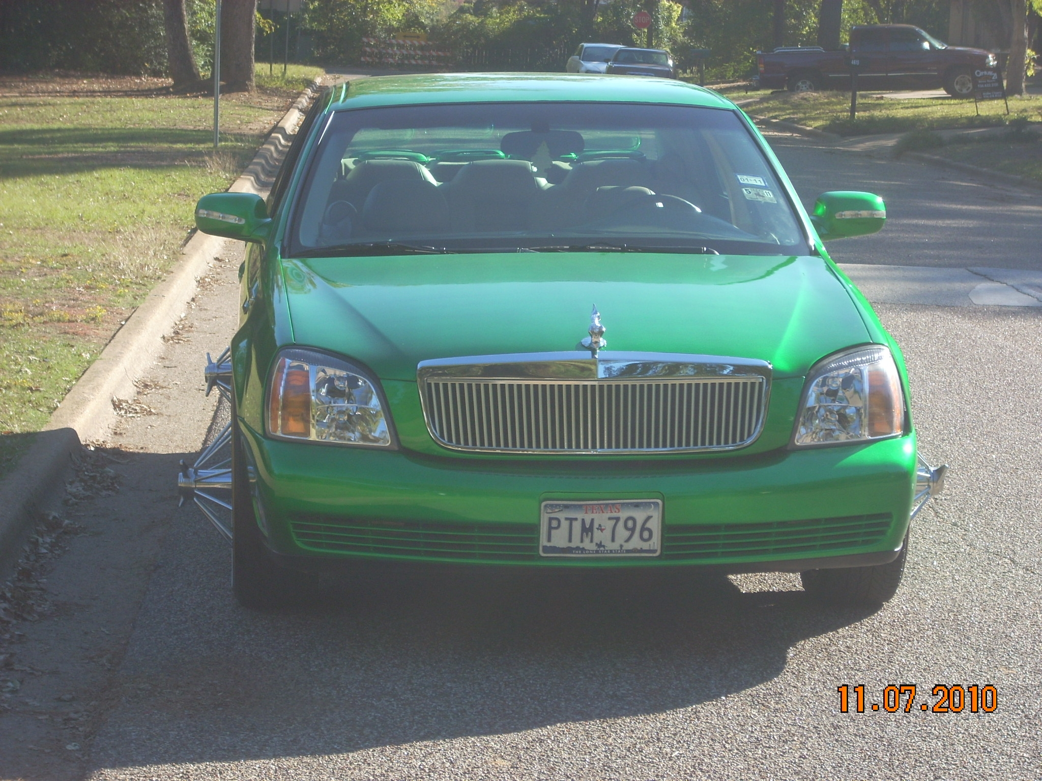 CandyGreenThang 2000 Cadillac DeVille 7810888