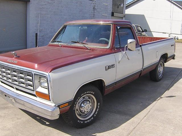 1984 Dodge D250 Regular Cab & Chassis