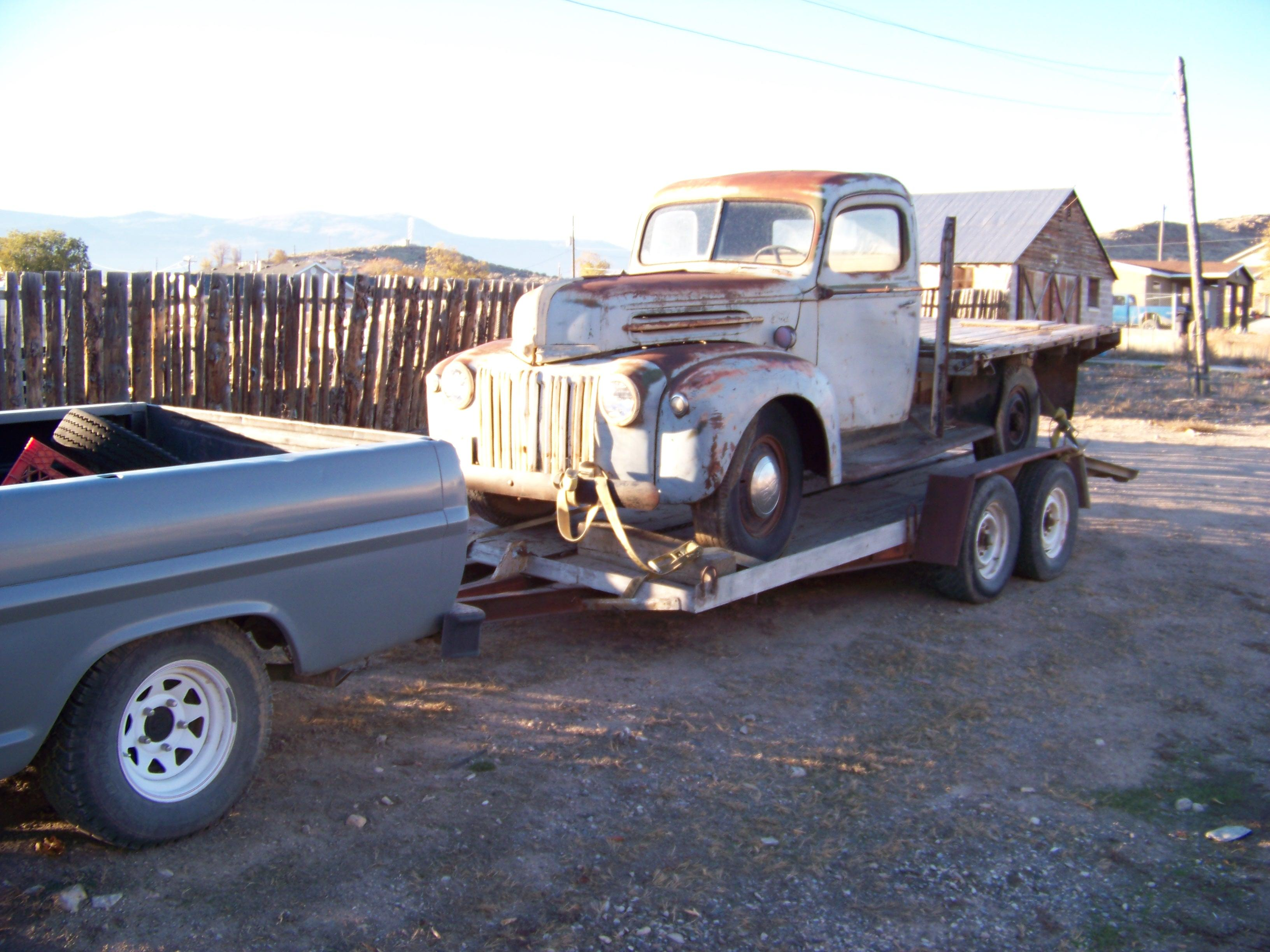 PROBED-OUT 1942 Ford F-1
