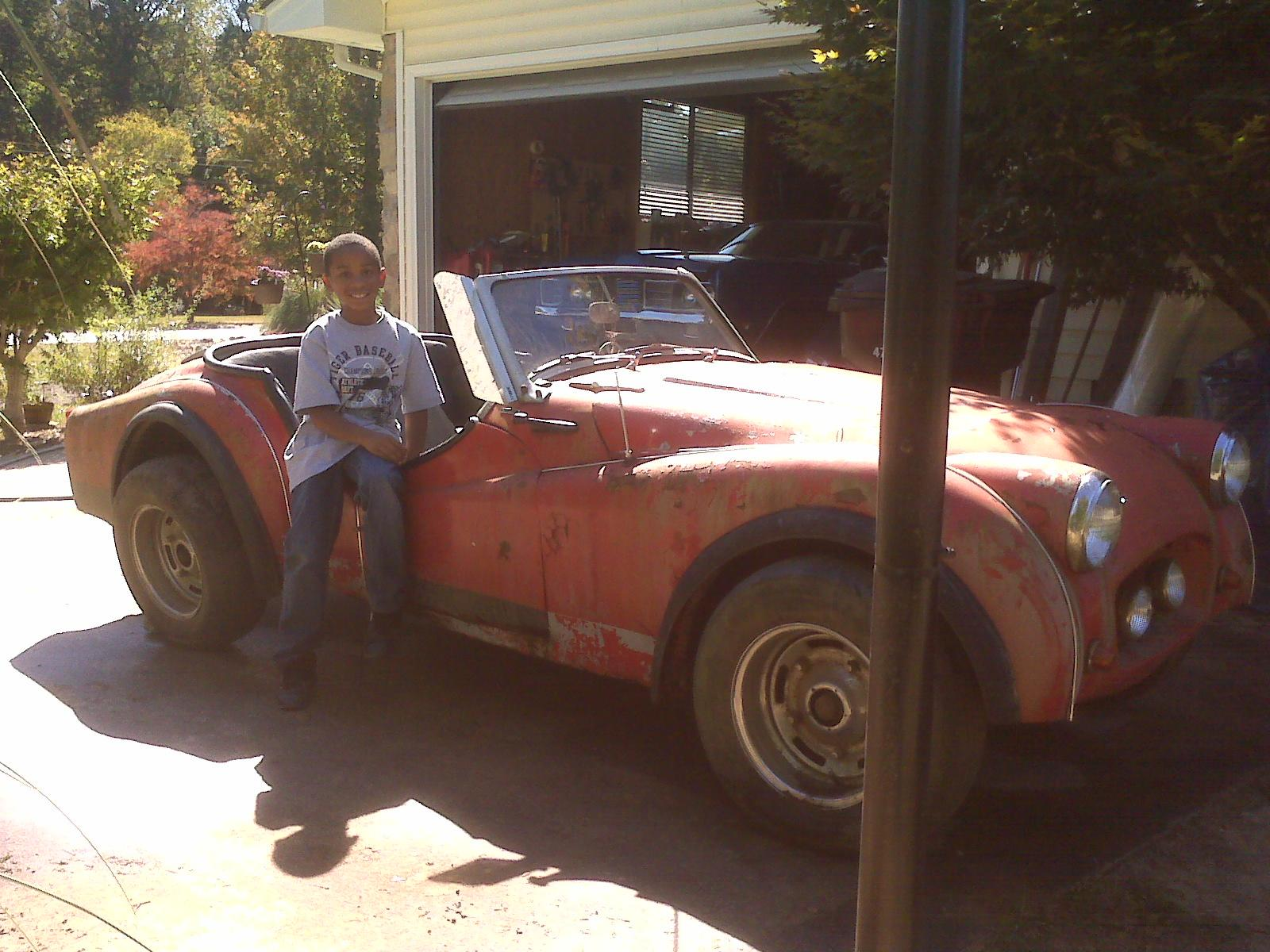Another Keith_chapman 1956 Triumph TR2 post... - 14852934