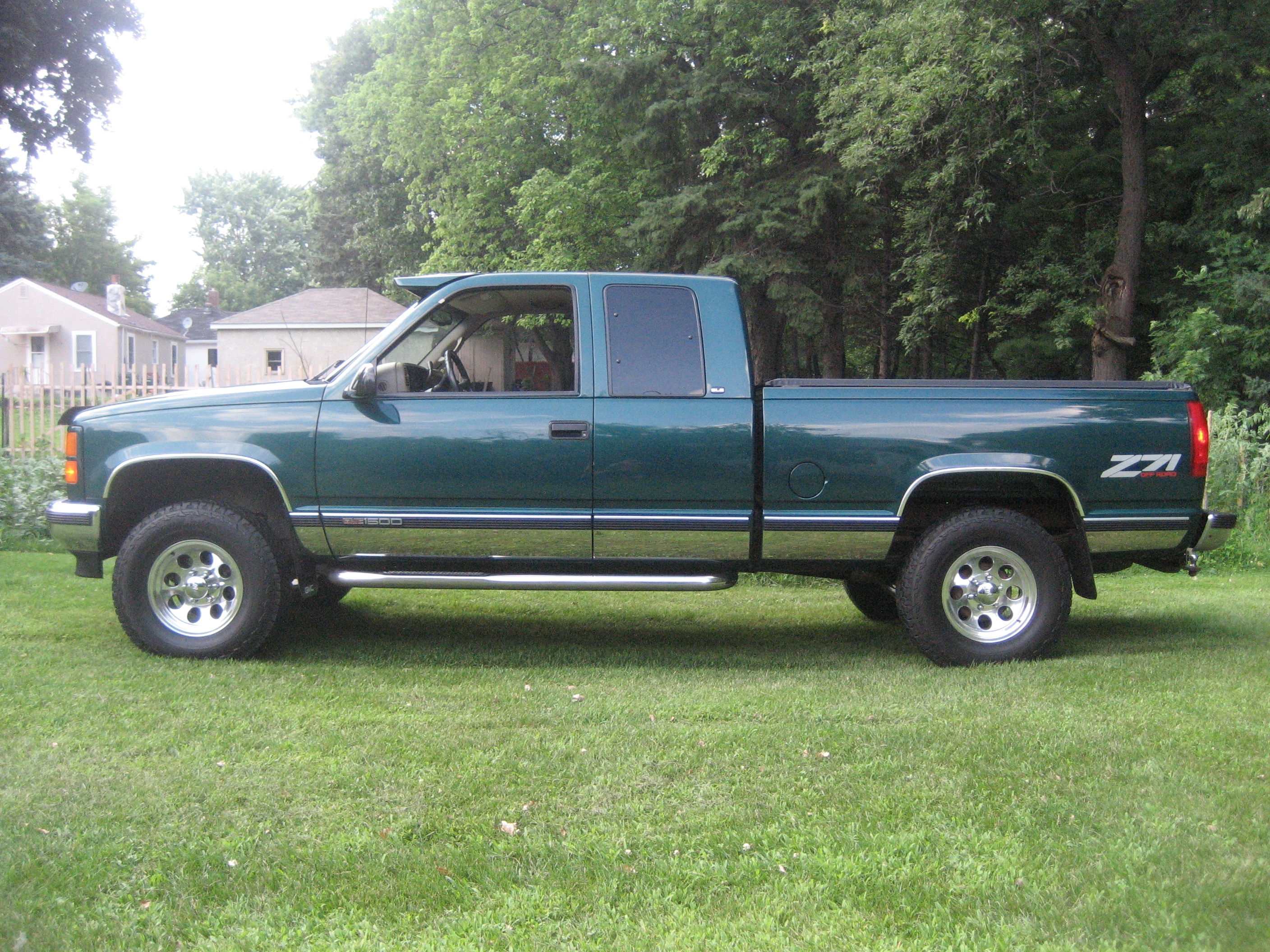 another gmpickups 1998 gmc sierra 1500 extended cab post. Black Bedroom Furniture Sets. Home Design Ideas