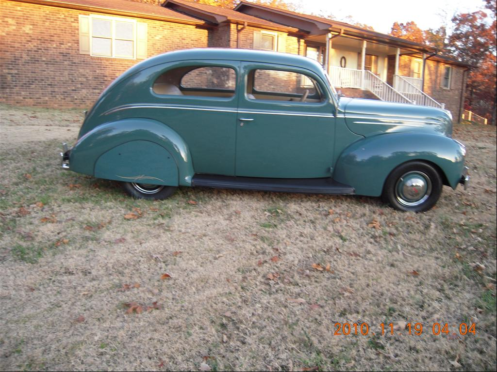 1939 Ford. 350 crate motor.