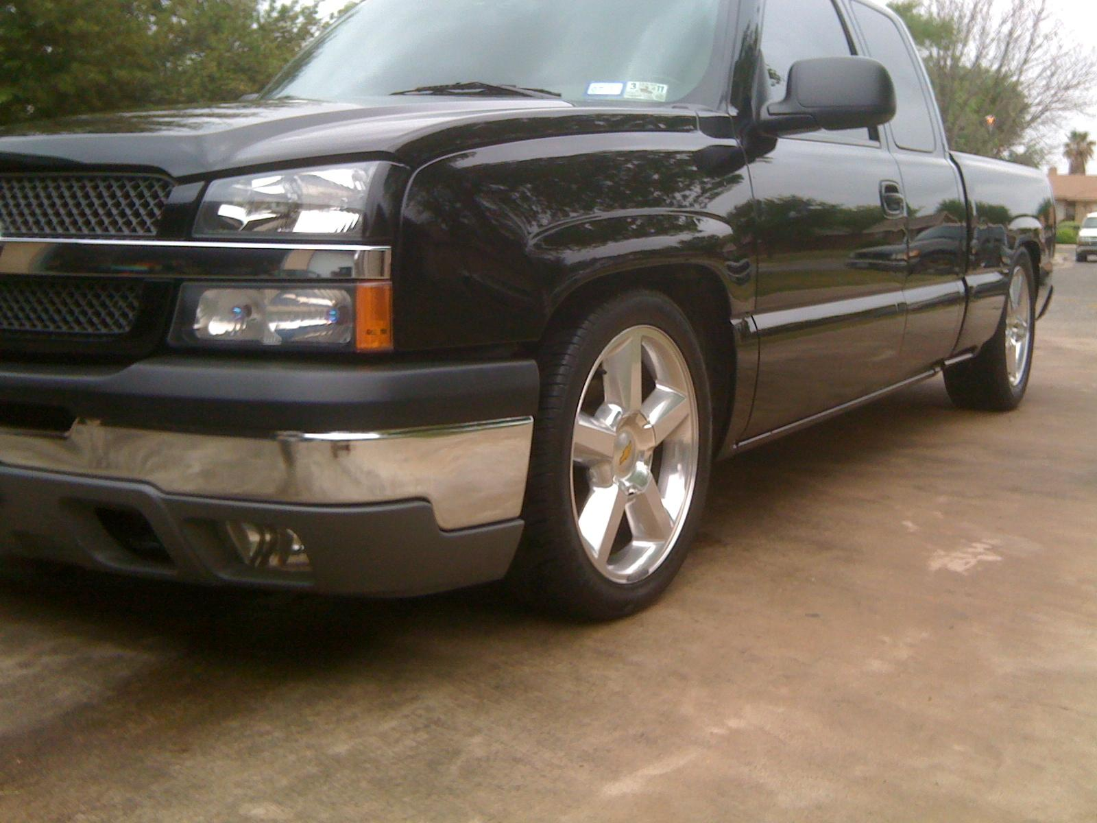 04blkonblk 2004 chevrolet silverado 1500 extended cabls. Black Bedroom Furniture Sets. Home Design Ideas
