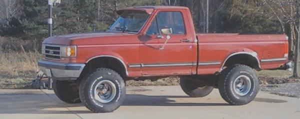 1989 Ford F150 Regular Cab