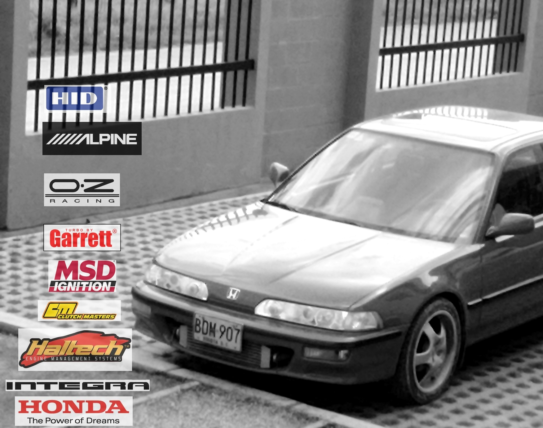 Another Nitrok1000in 1993 Honda Integra post... - 16443666
