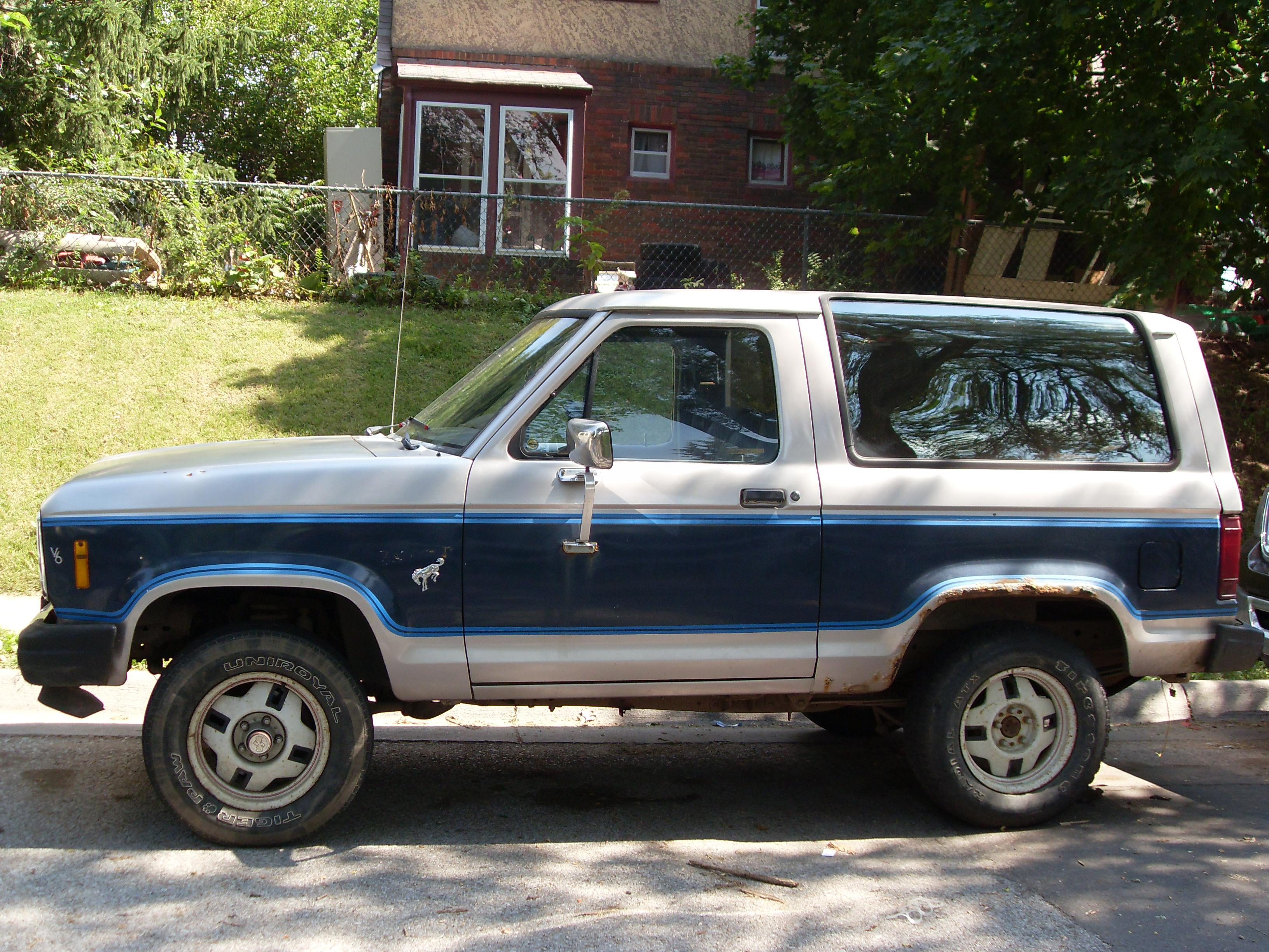 Nissan Of Omaha >> Shapechanger 1985 Ford Bronco II Specs, Photos, Modification Info at CarDomain