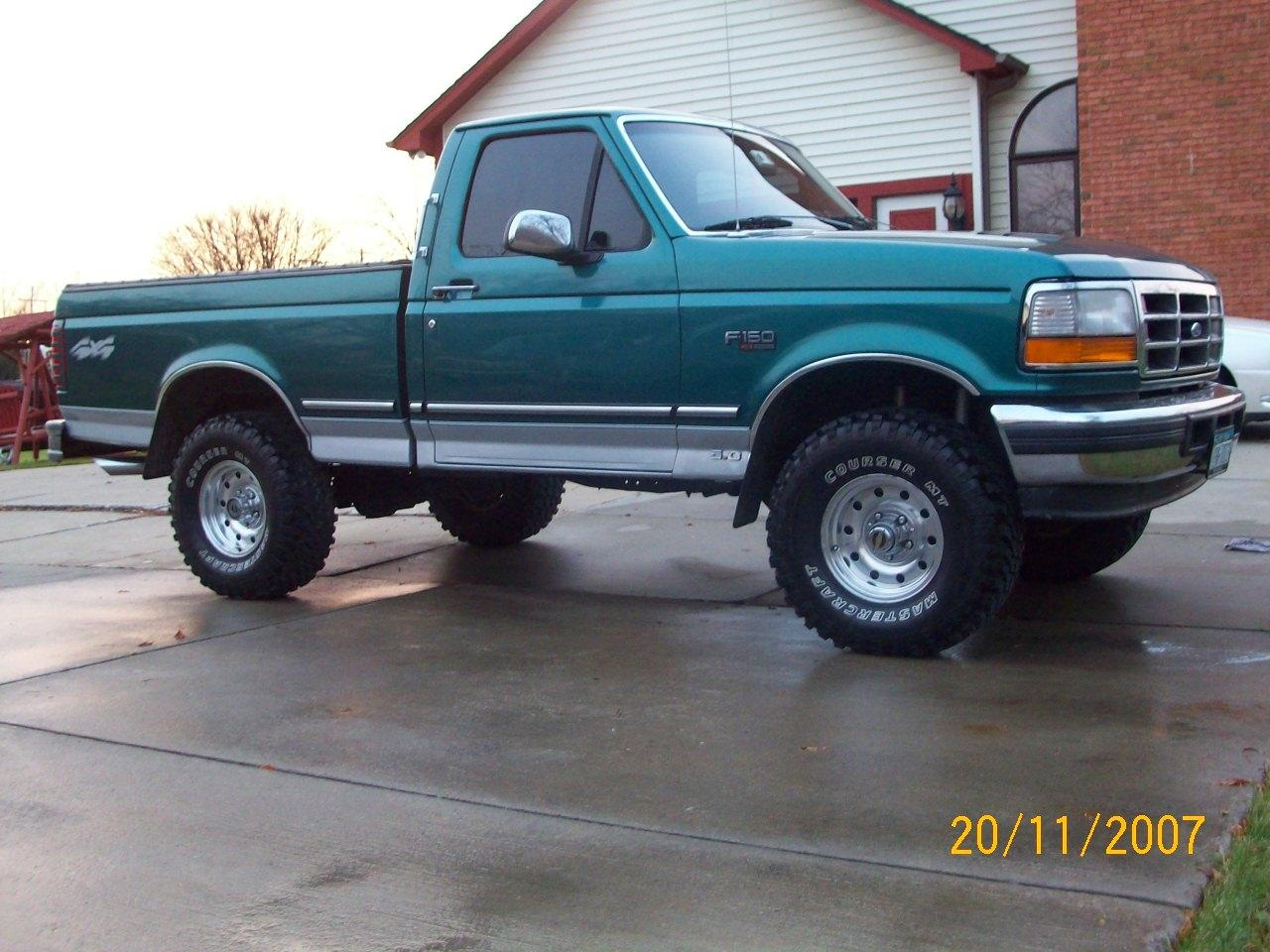 Cadillacmob 1996 Ford F150 Regular Cabshort Bed Specs Photos Modification Info At Cardomain