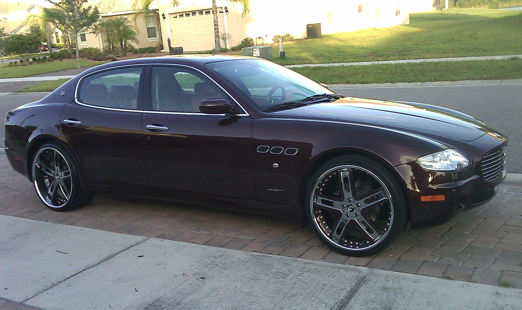 Another wilsongarcia 2007 Maserati Quattroporte post... - 14886675