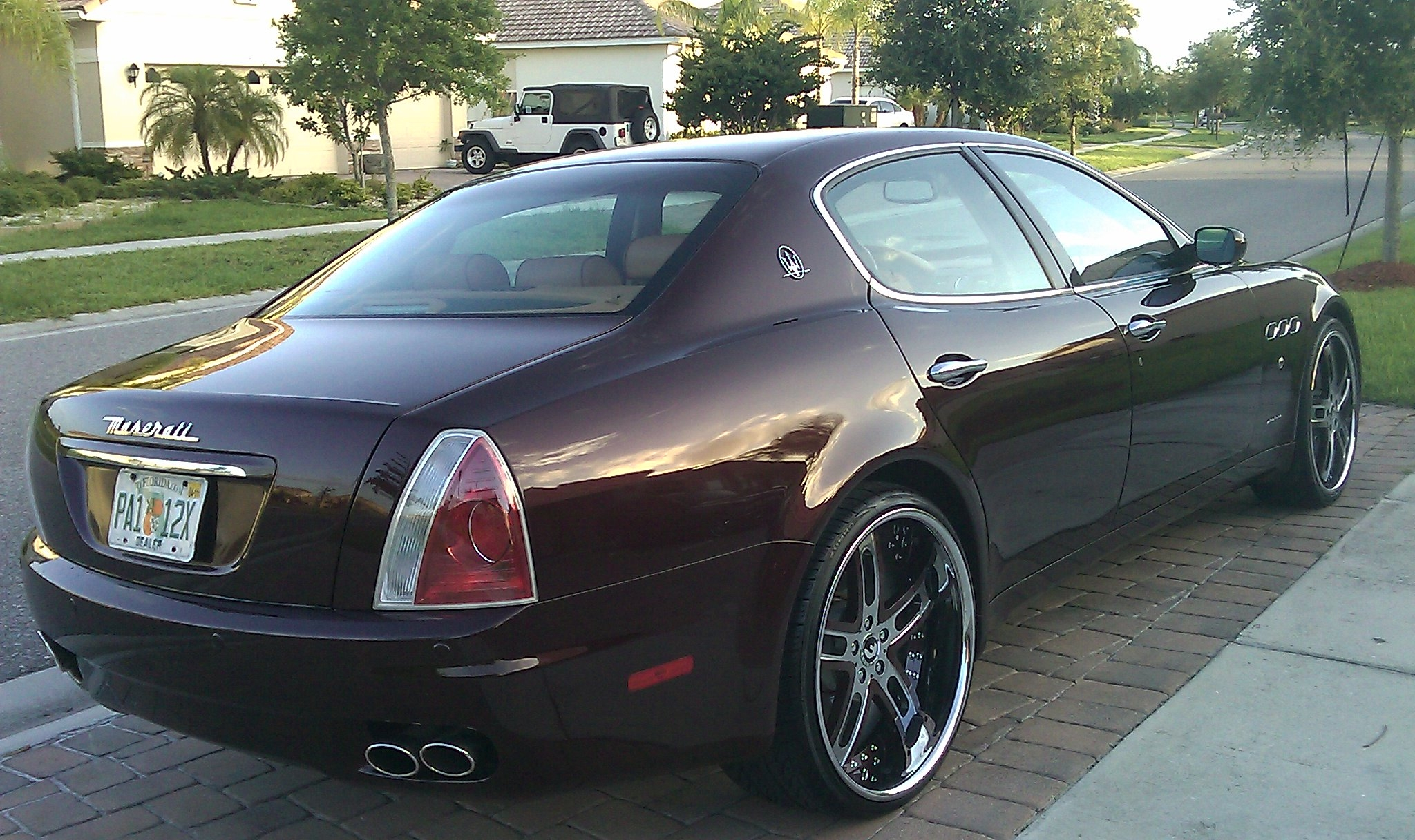 Another wilsongarcia 2007 Maserati Quattroporte post... - 14886682