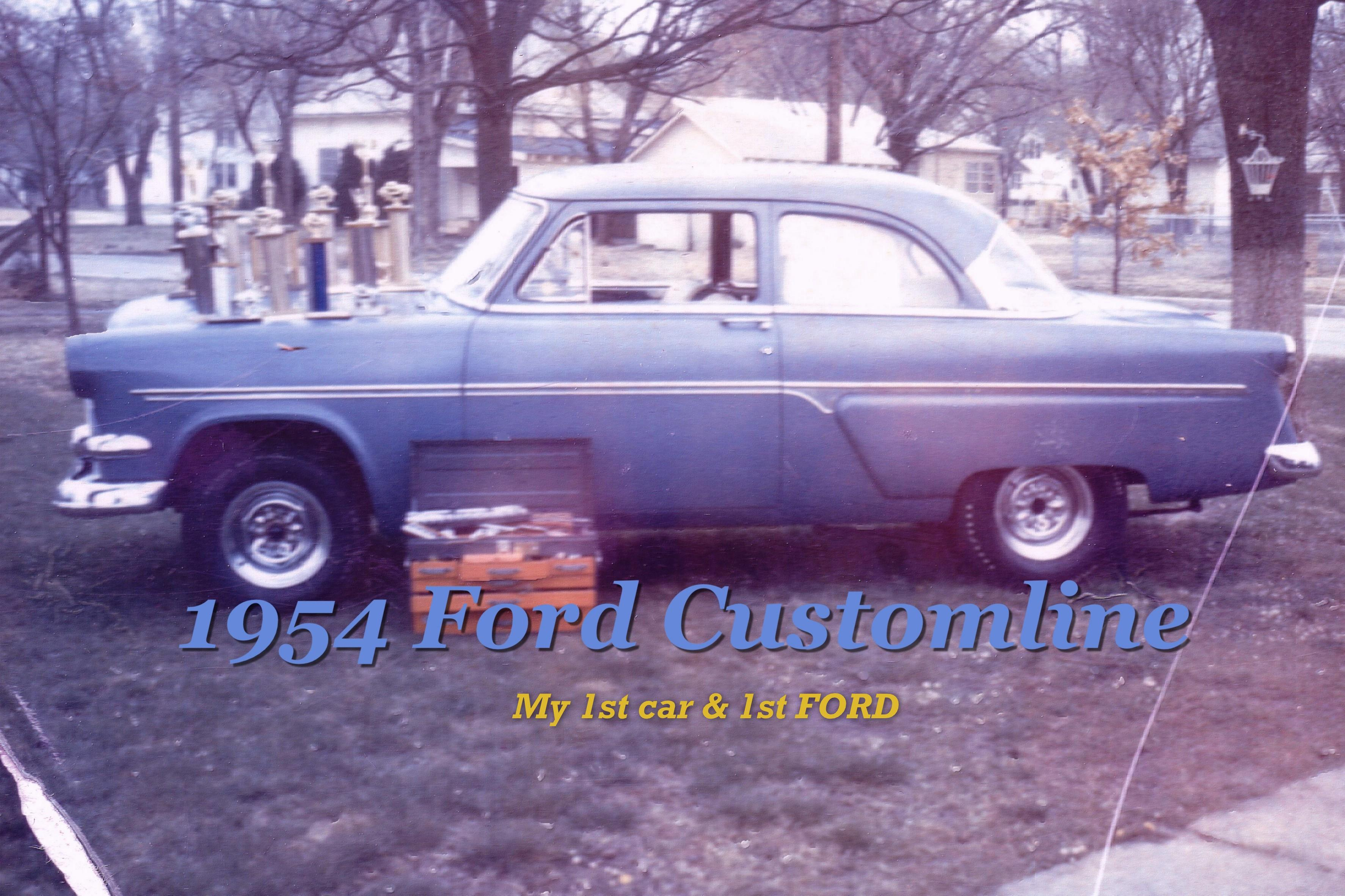 Another Pudgedaddy 1954 Ford Customline post... - 14885252