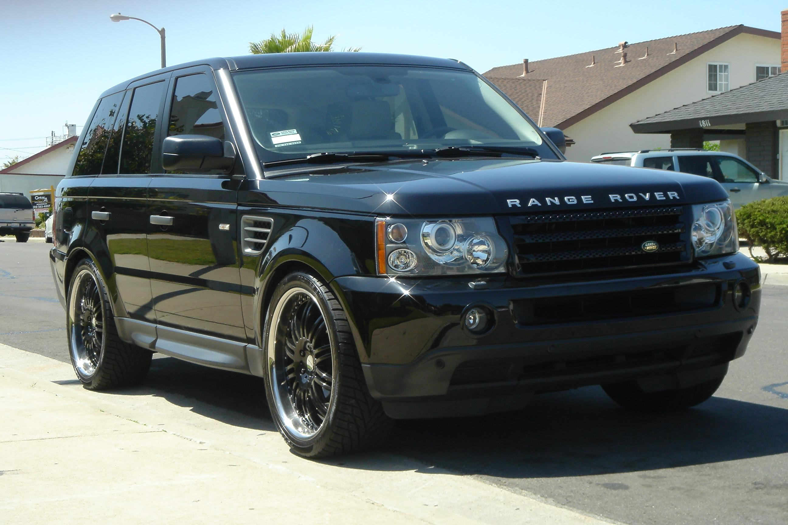 k5blazin 2008 land rover range rover sporthse sport utility 4d specs photos modification info. Black Bedroom Furniture Sets. Home Design Ideas