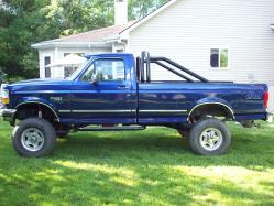 FORD826 1996 Ford F350 Super Duty Regular Cab