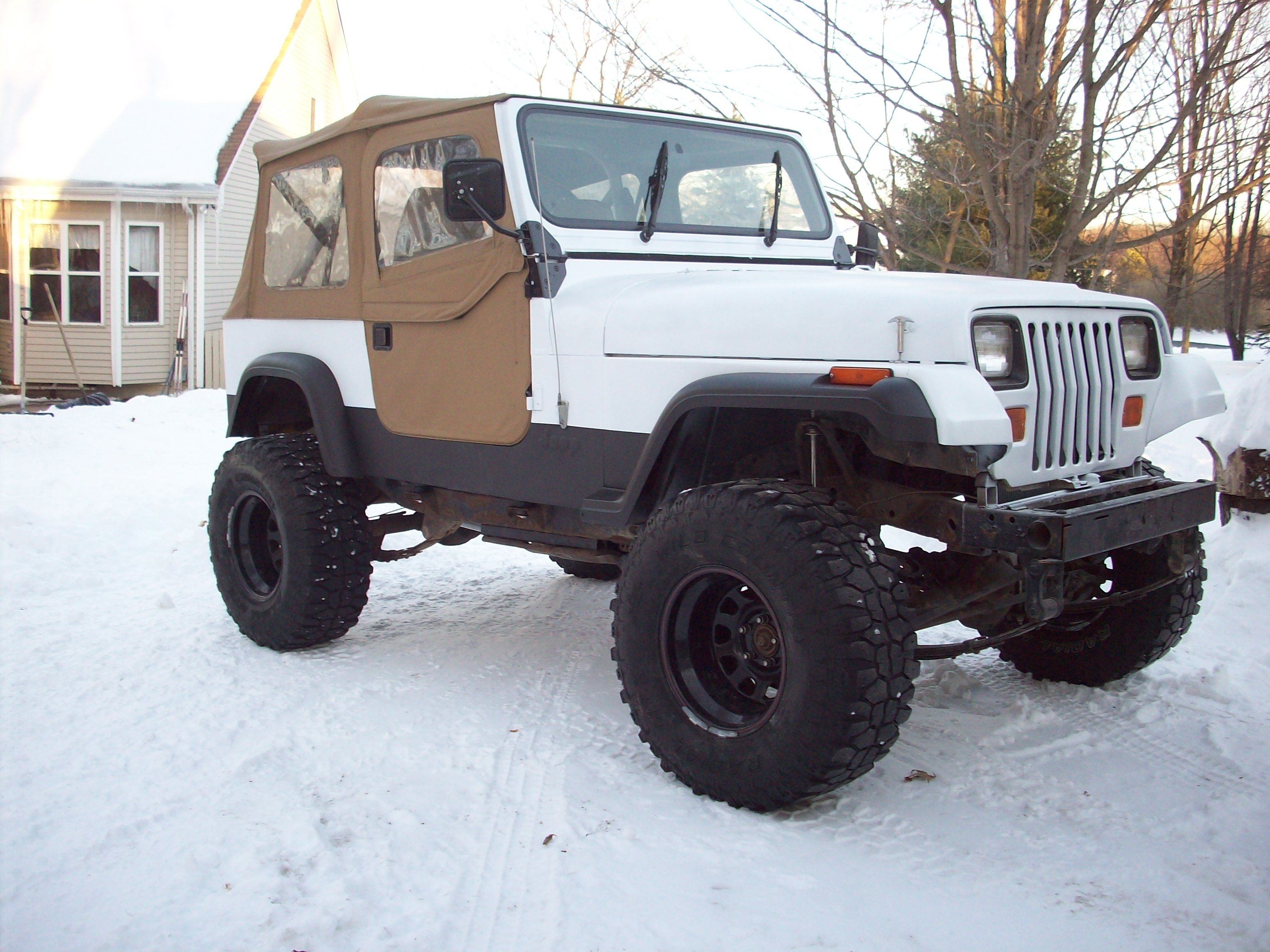 FORD826 1991 Jeep YJ