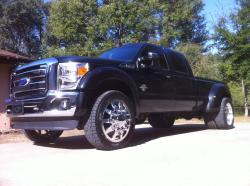 BlackfynCustoms1 2011 Ford F450 Super Duty Crew Cab