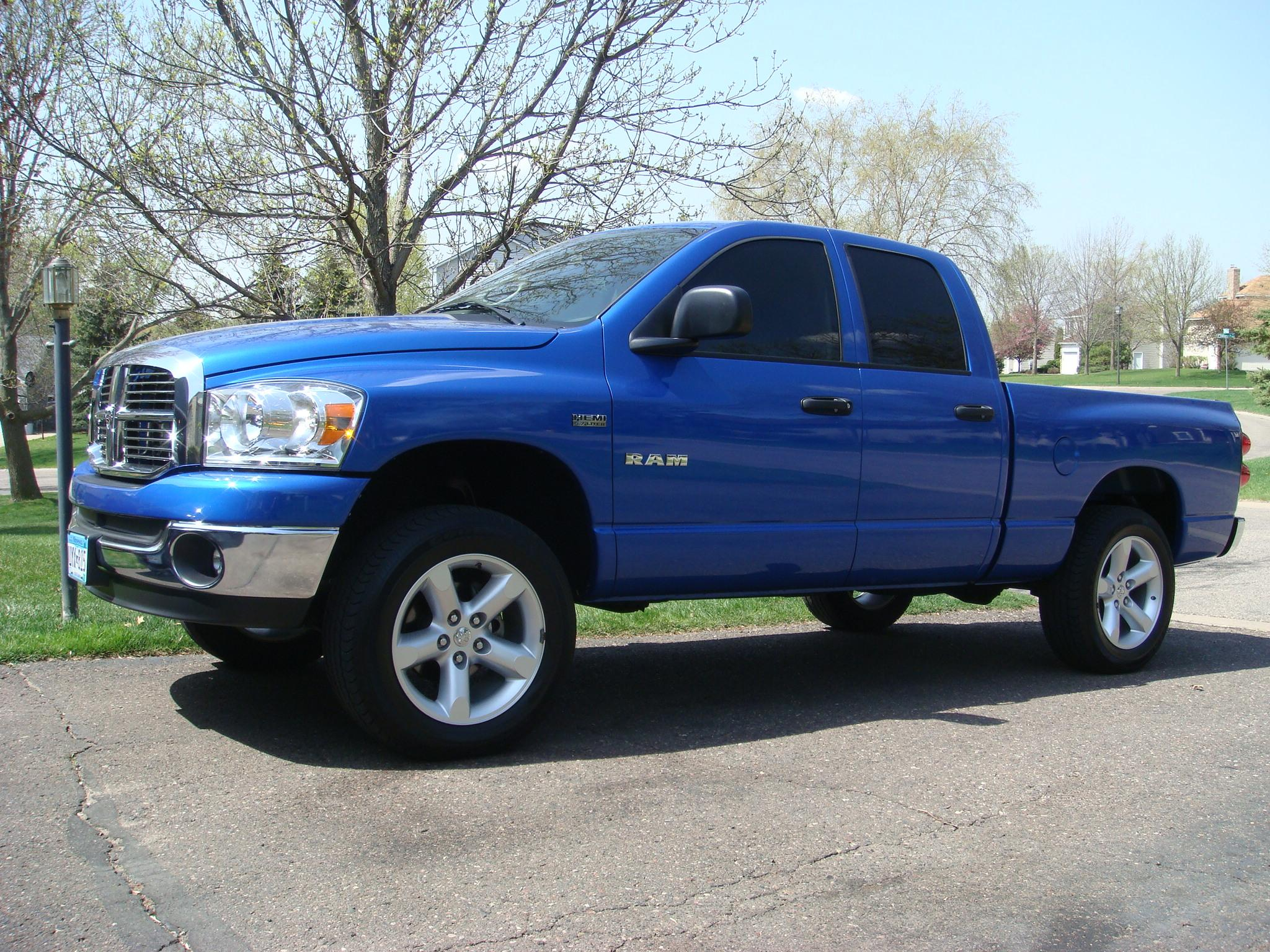 brasshead 2008 dodge ram 1500 quad cabslt pickup 4d 6 1 4 ft specs photos modification info at. Black Bedroom Furniture Sets. Home Design Ideas