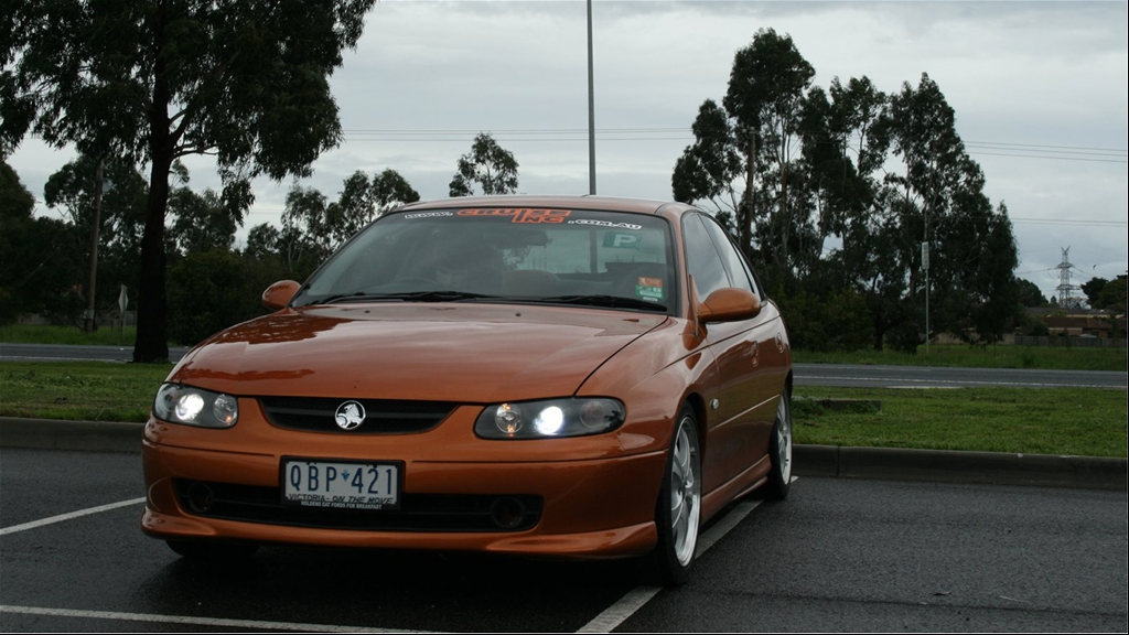 Holden Commodore Vt 2000. Holden commodore VT-S, V6,