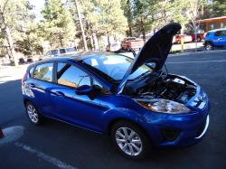 flagstangs 2011 Ford Fiesta