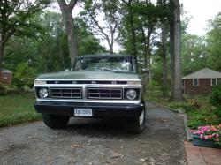 76F100s 1976 Ford F150 Regular Cab