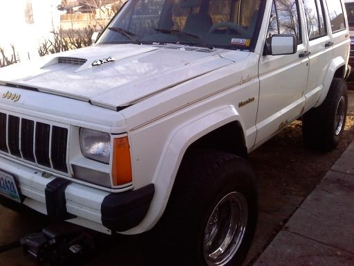 Original on 1989 Jeep Cherokee