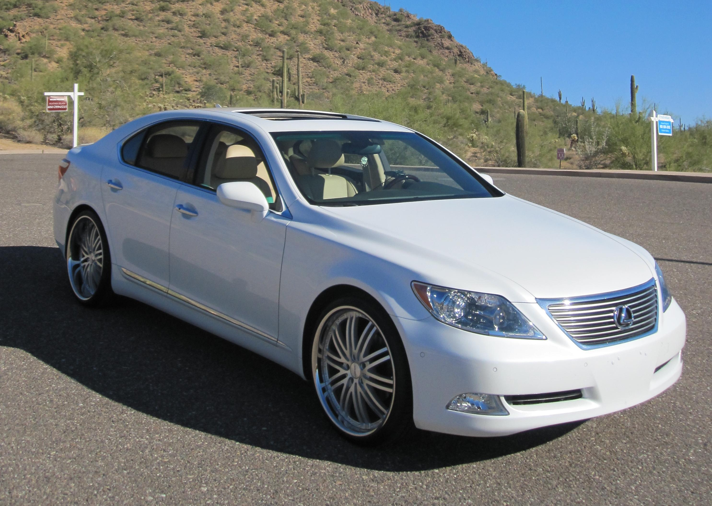 i8abmr 2007 lexus lsls 460 sedan 4d specs photos modification info at cardomain. Black Bedroom Furniture Sets. Home Design Ideas