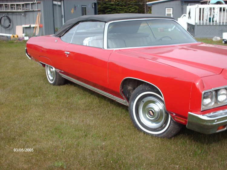 """1972 Chevrolet Impala """"for sale 317-250-2237 """" - INDIANAPOLIS, IN"""