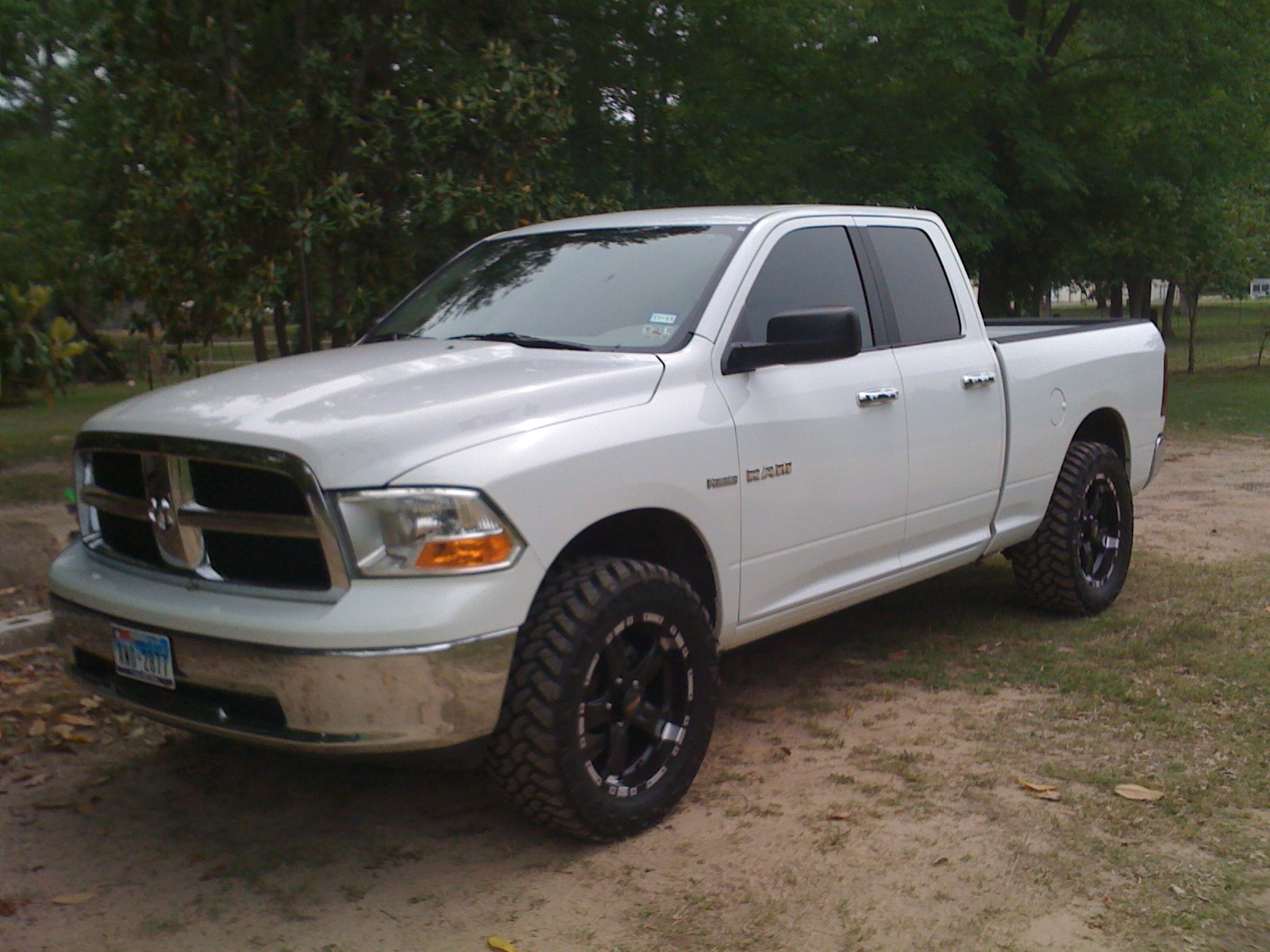 Carlost19 2010 dodge ram 1500 crew cabslt pickup 4d 5 1 2 ft specs photos modification info at - Crew cab dodge ram ...