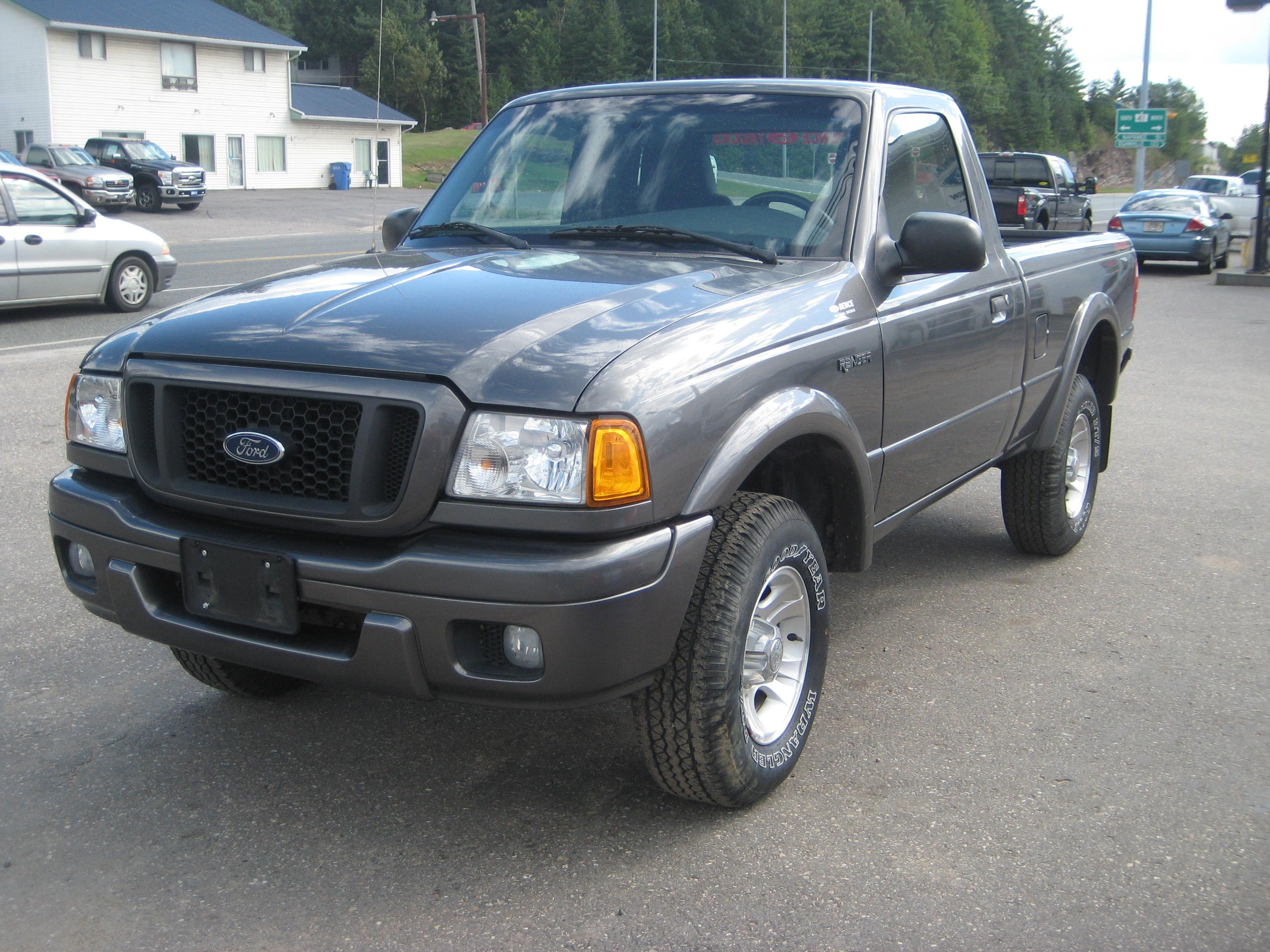 DRFTNGKNG 2004 Ford Ranger Regular CabEdge Pickup 2D 6 ft