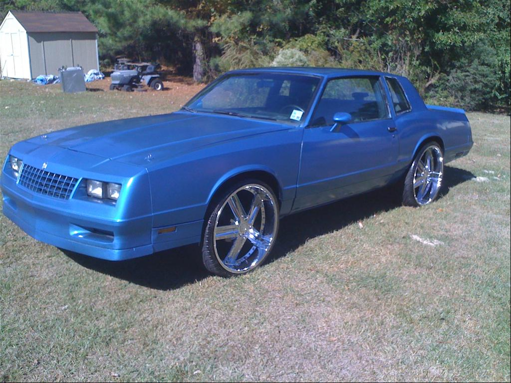 1986 Chevrolet Monte Carlo The Blue Beast - Shreveport, LA owned by