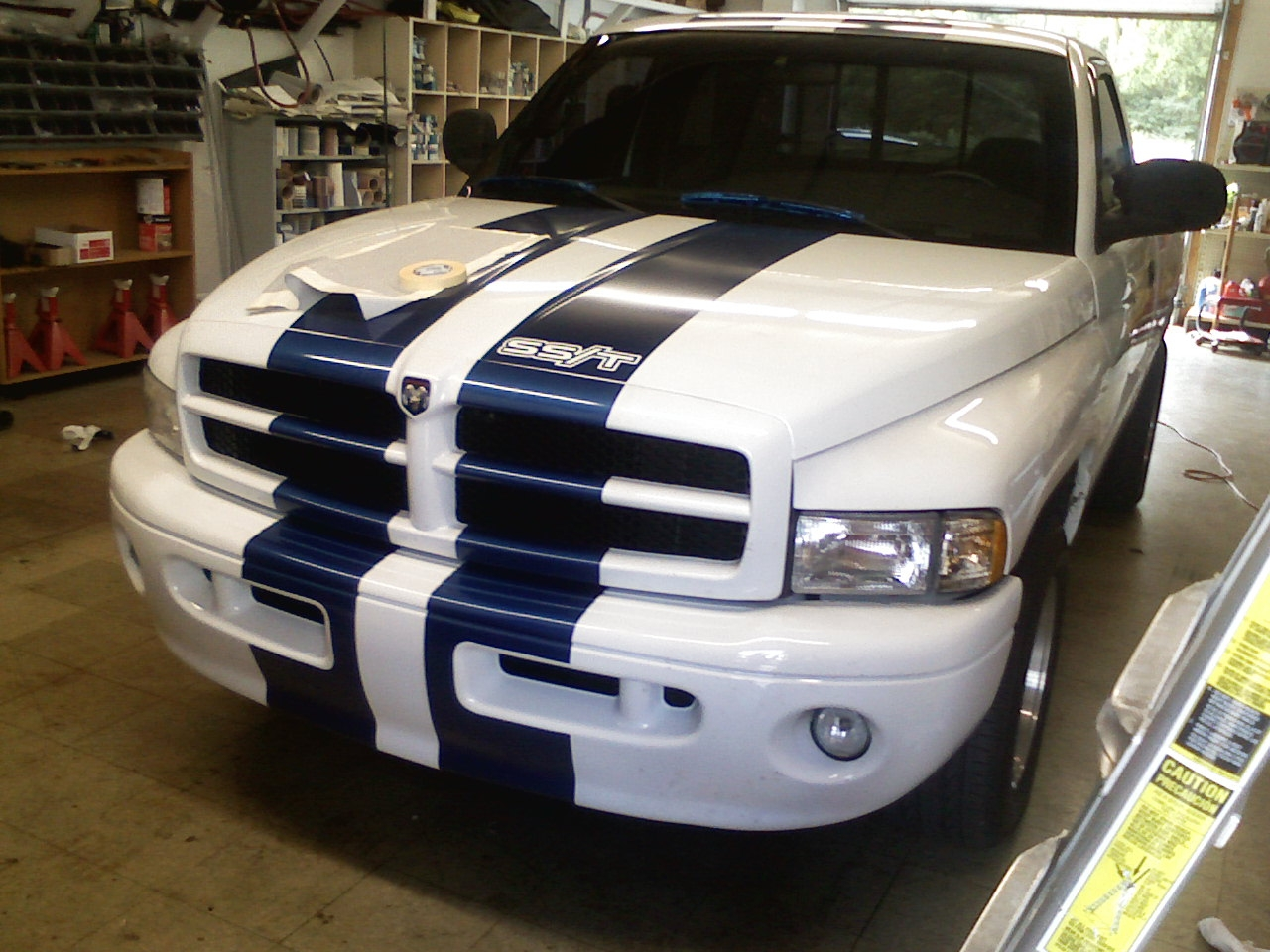 Original on 1997 Dodge Ram 1500 4x4 Sport