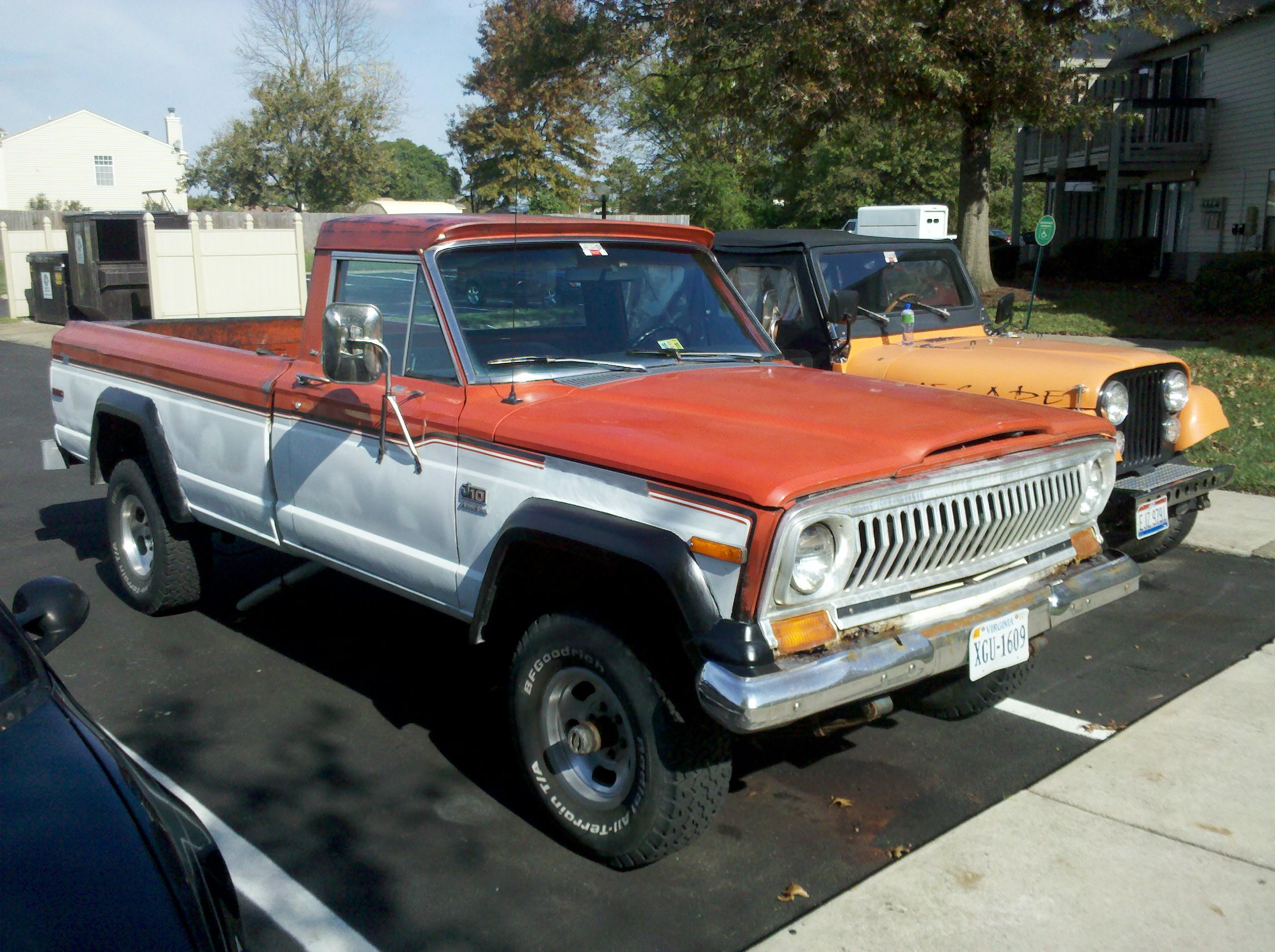 4x4 play 1978 jeep j series specs photos modification info at cardomain. Black Bedroom Furniture Sets. Home Design Ideas