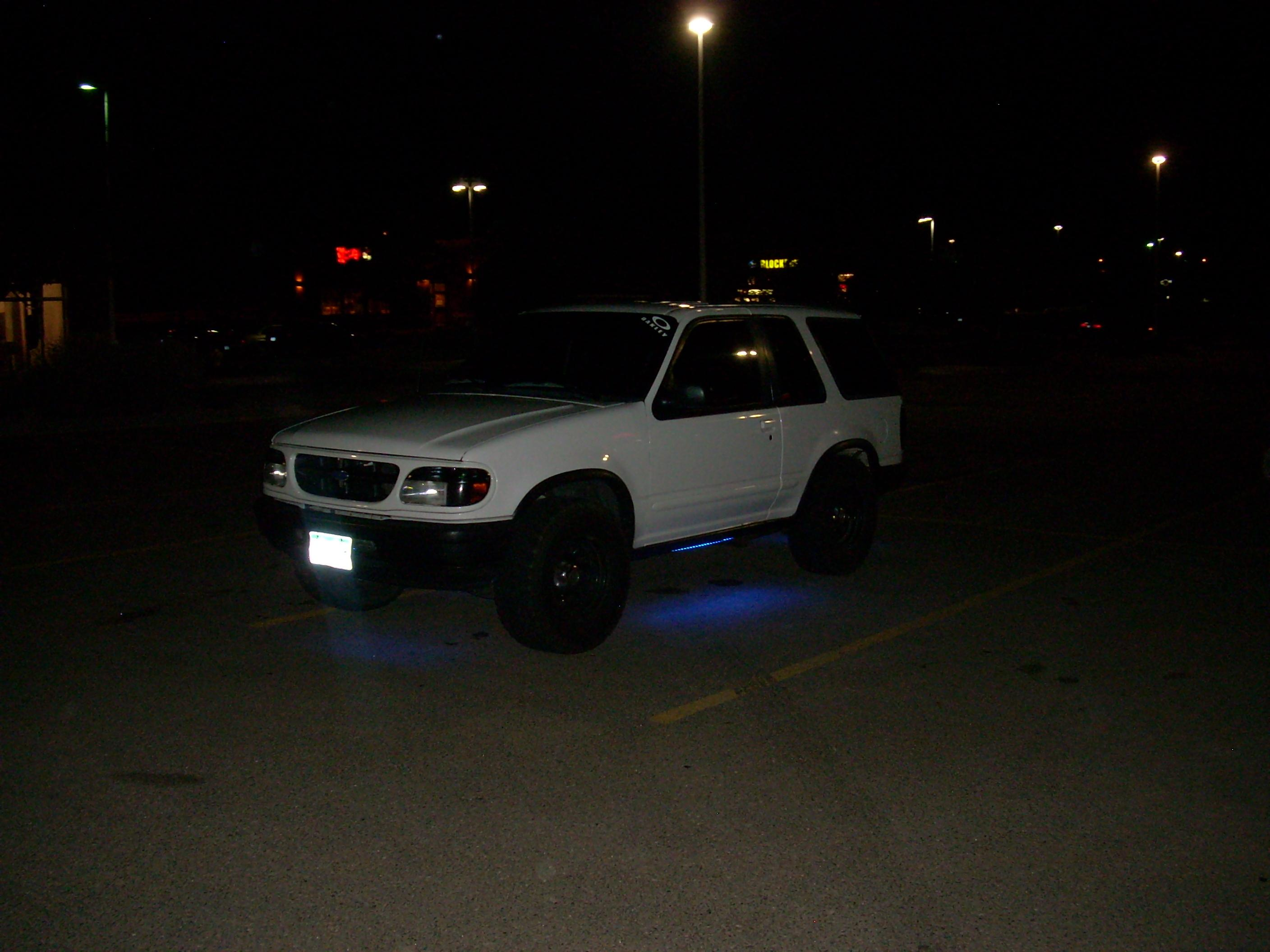 Potterstheman 1996 Ford Explorer Sport