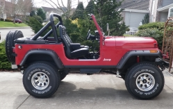 timsperrys 1985 Jeep CJ7