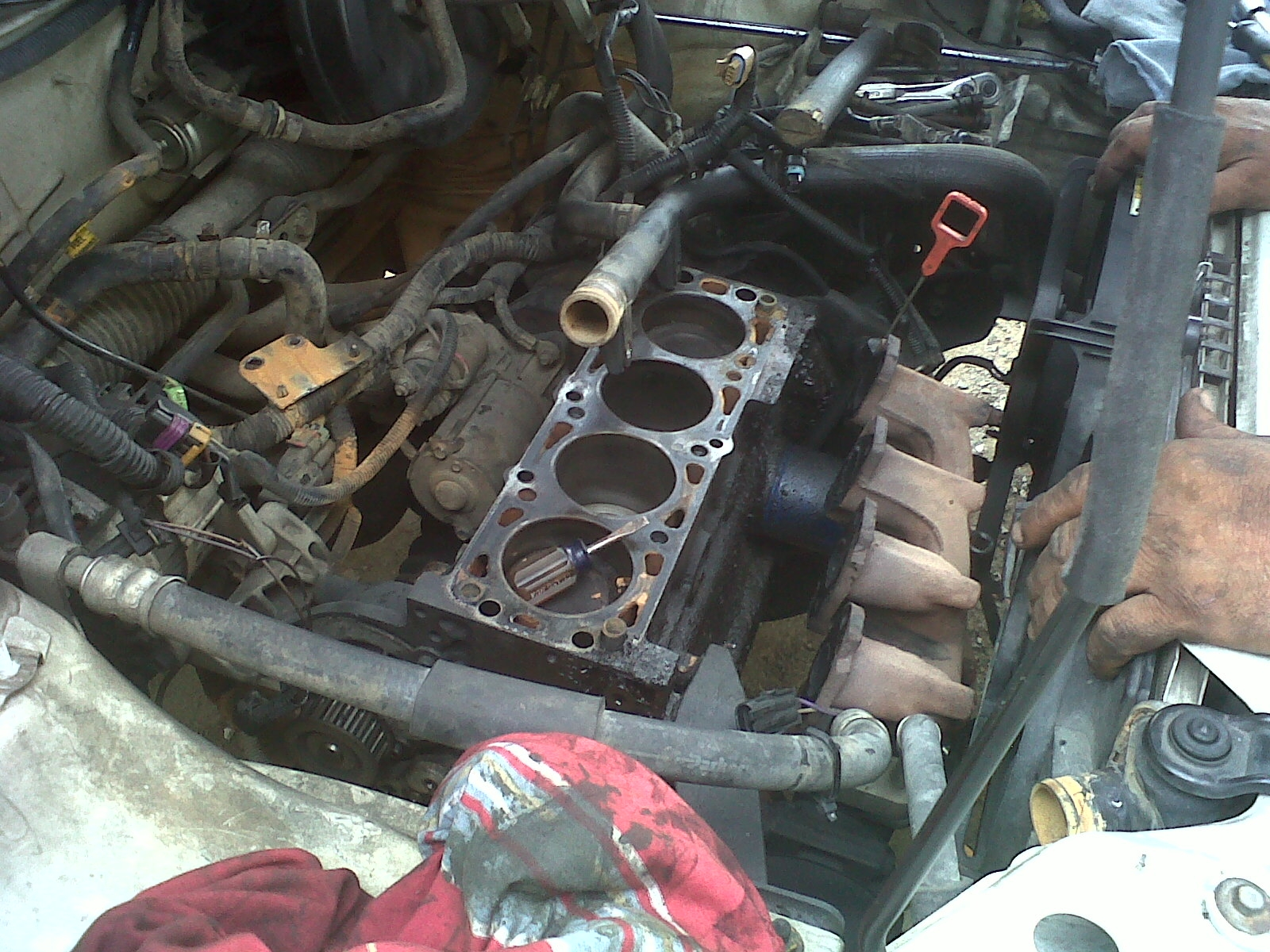 I had some minor problems with my engine... I accidently overheated the  engine