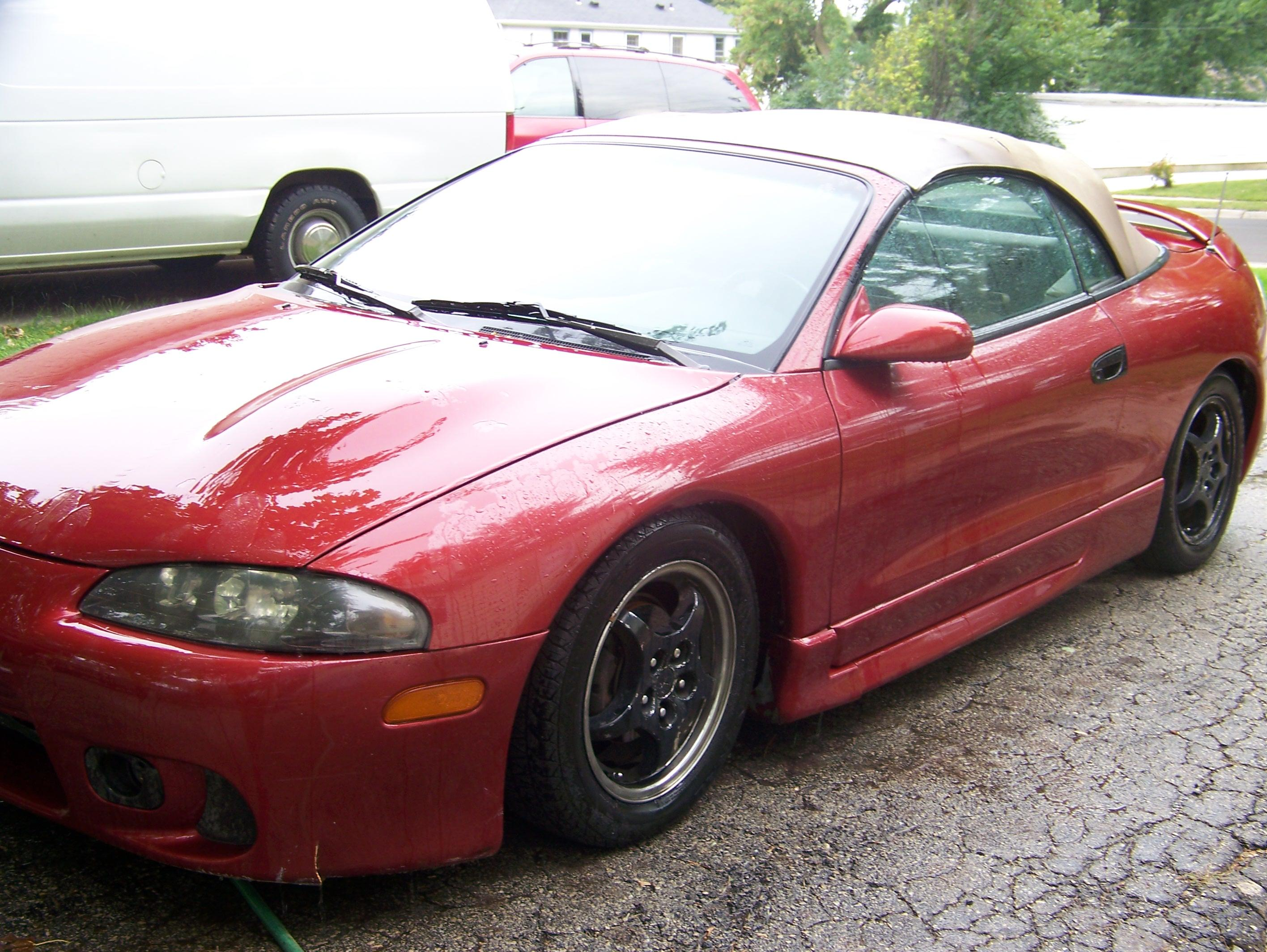 ace956 39 s 1997 mitsubishi eclipse gs t spyder convertible 2d in green bay wi. Black Bedroom Furniture Sets. Home Design Ideas
