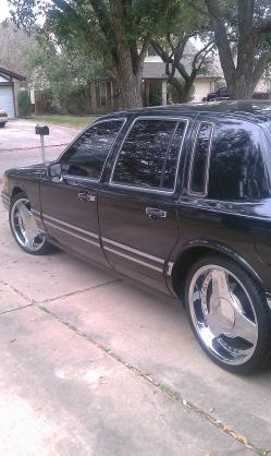 713kings 1991 Lincoln Town Car