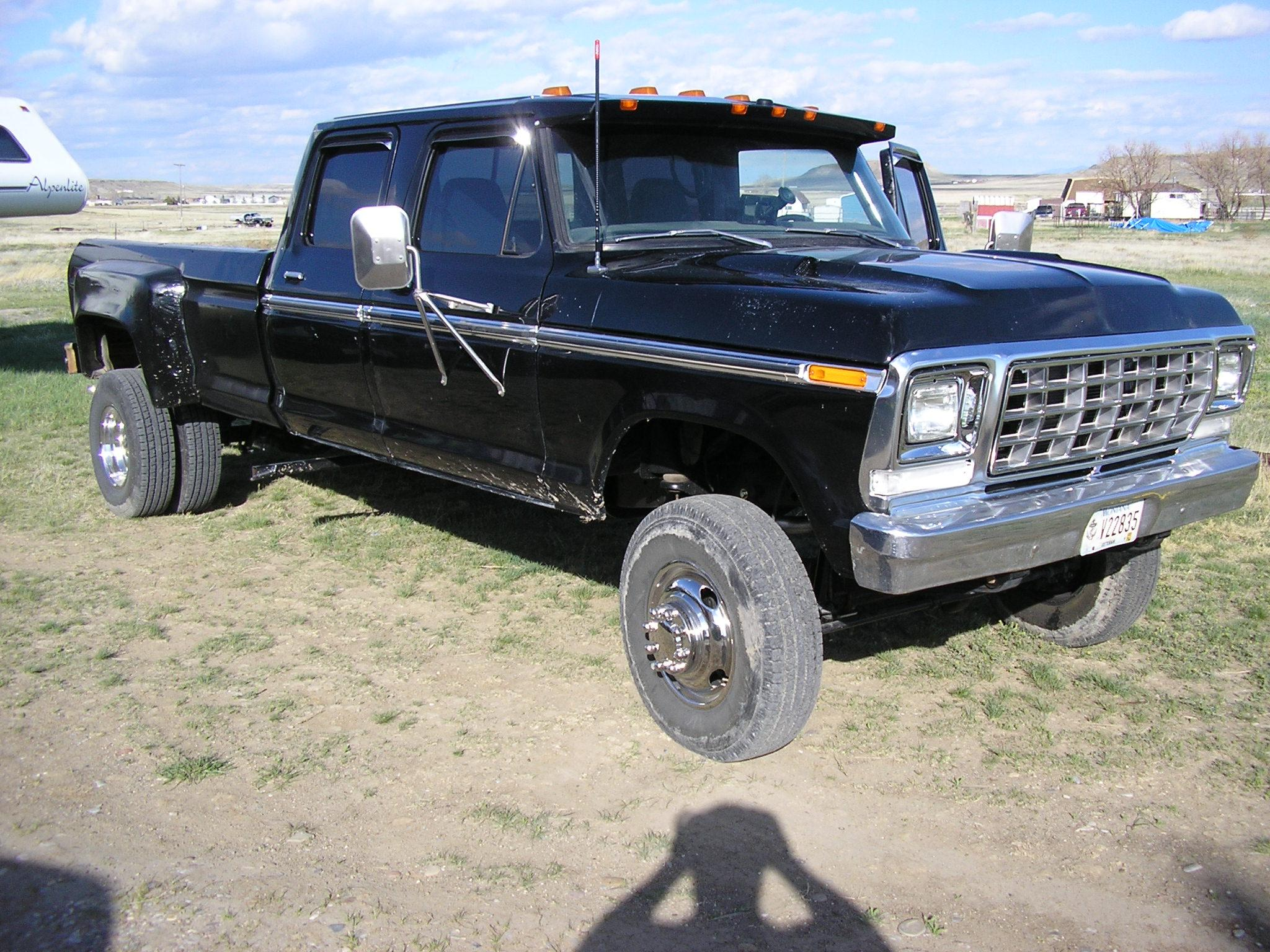 InfoFord's 1979 Ford F350 Crew Cab in Great Falls, MT