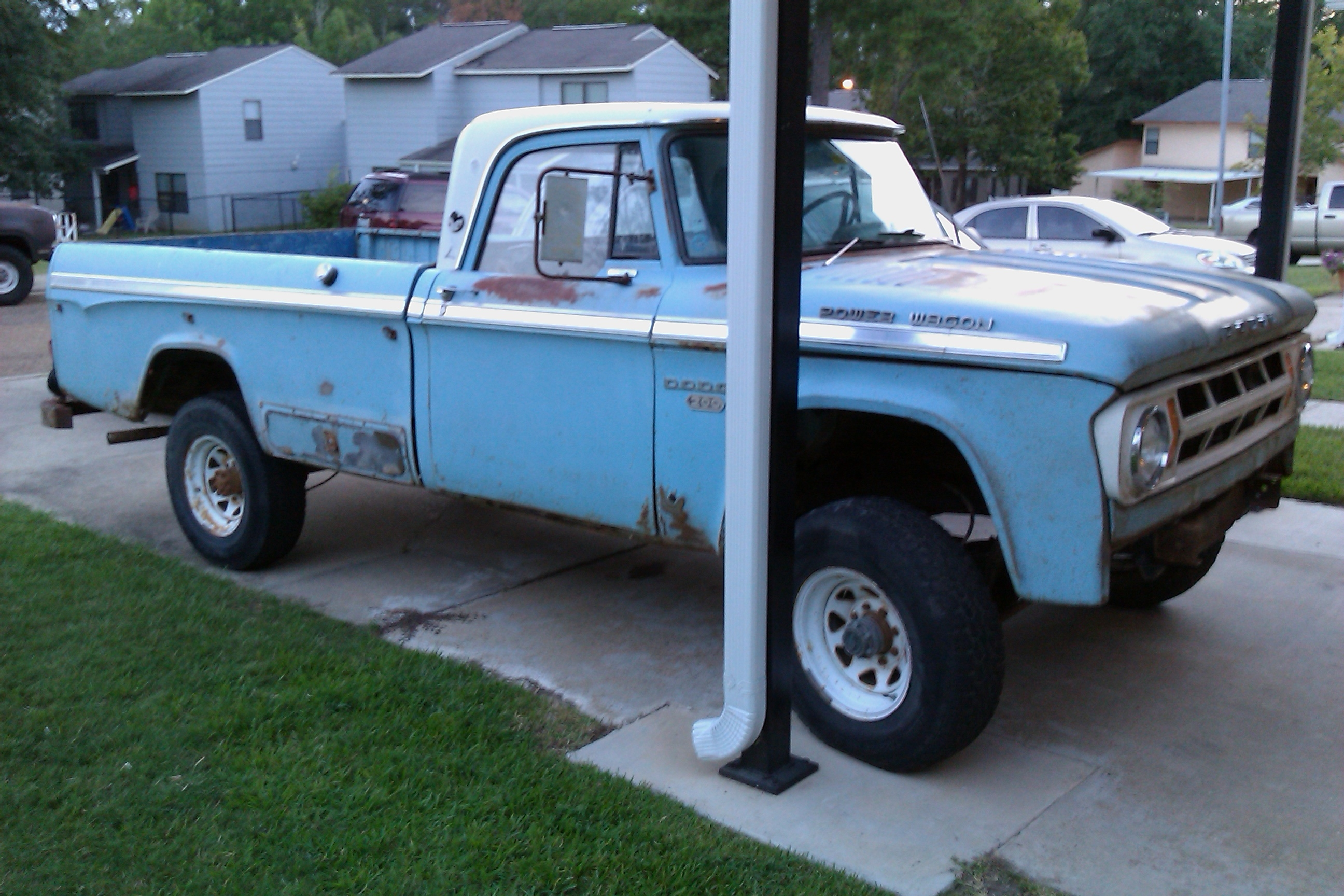 Original on 1972 Dodge W200 Power Wagon