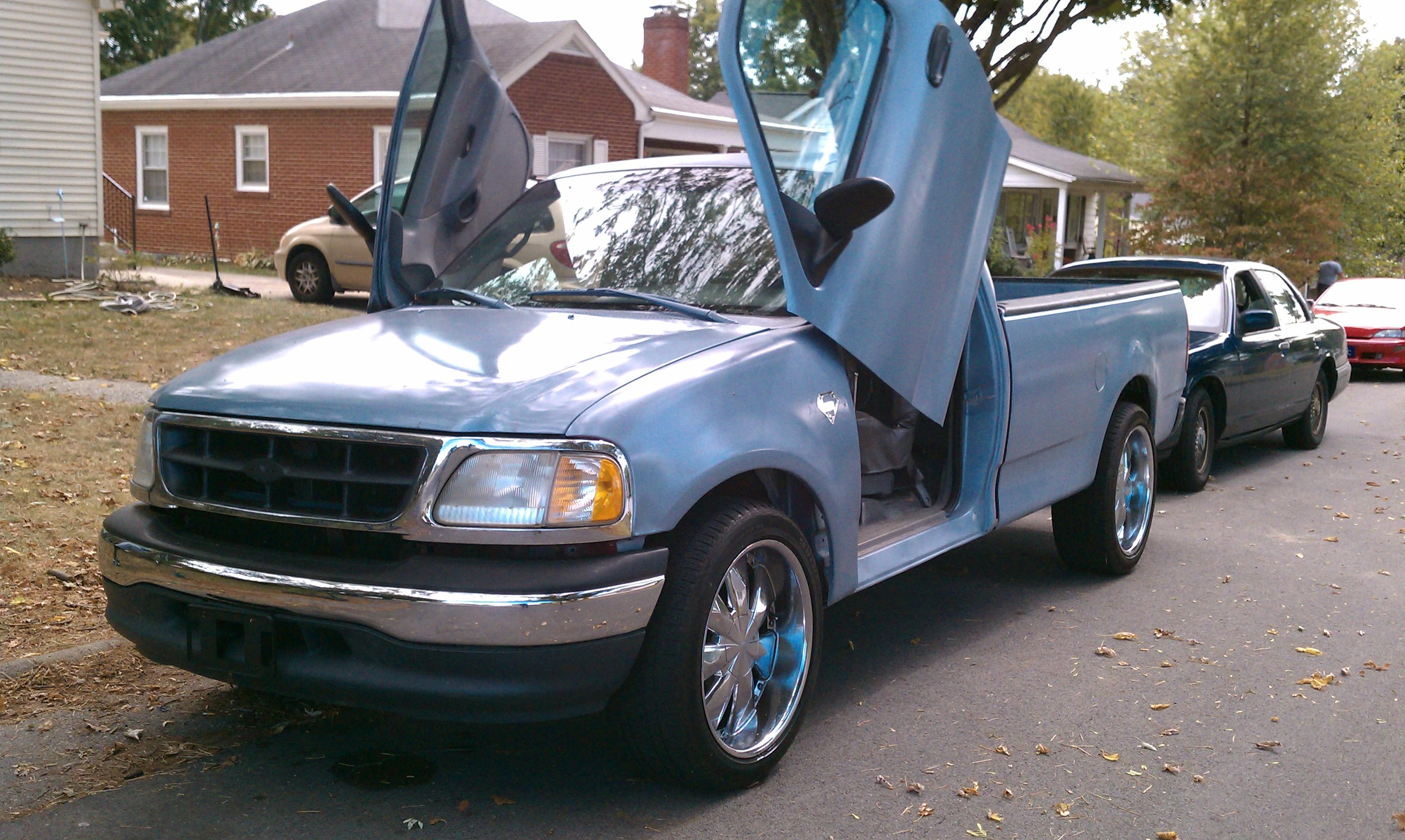 1998 ford f150 bed