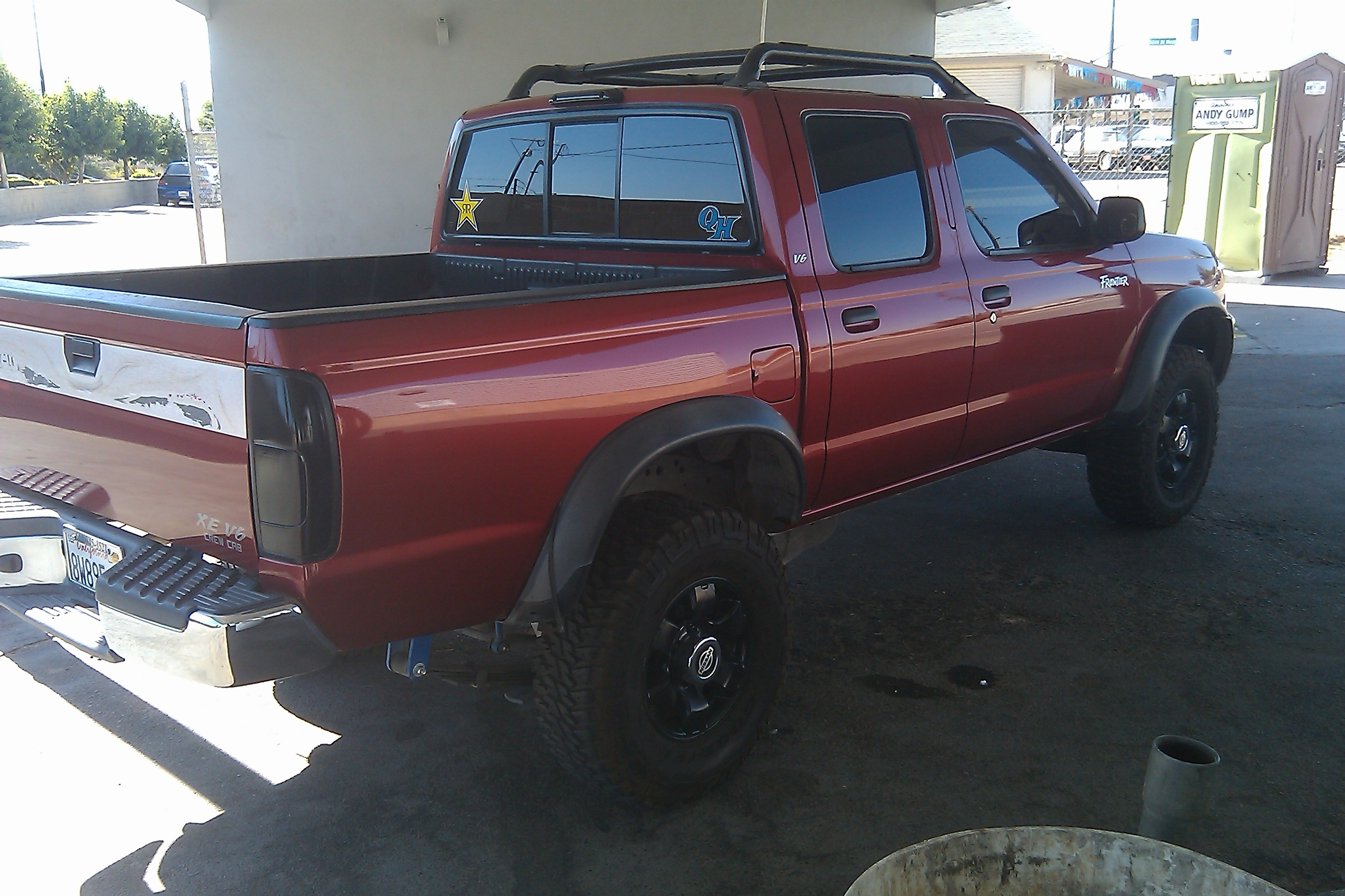 rebelfrontier34 2000 nissan frontier crew cabxe short bed specs photos modification info at. Black Bedroom Furniture Sets. Home Design Ideas