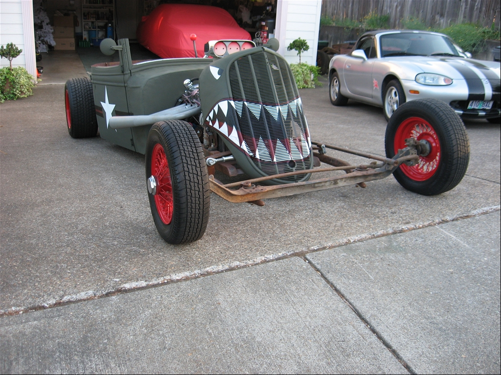 The Rat Rod started out as a