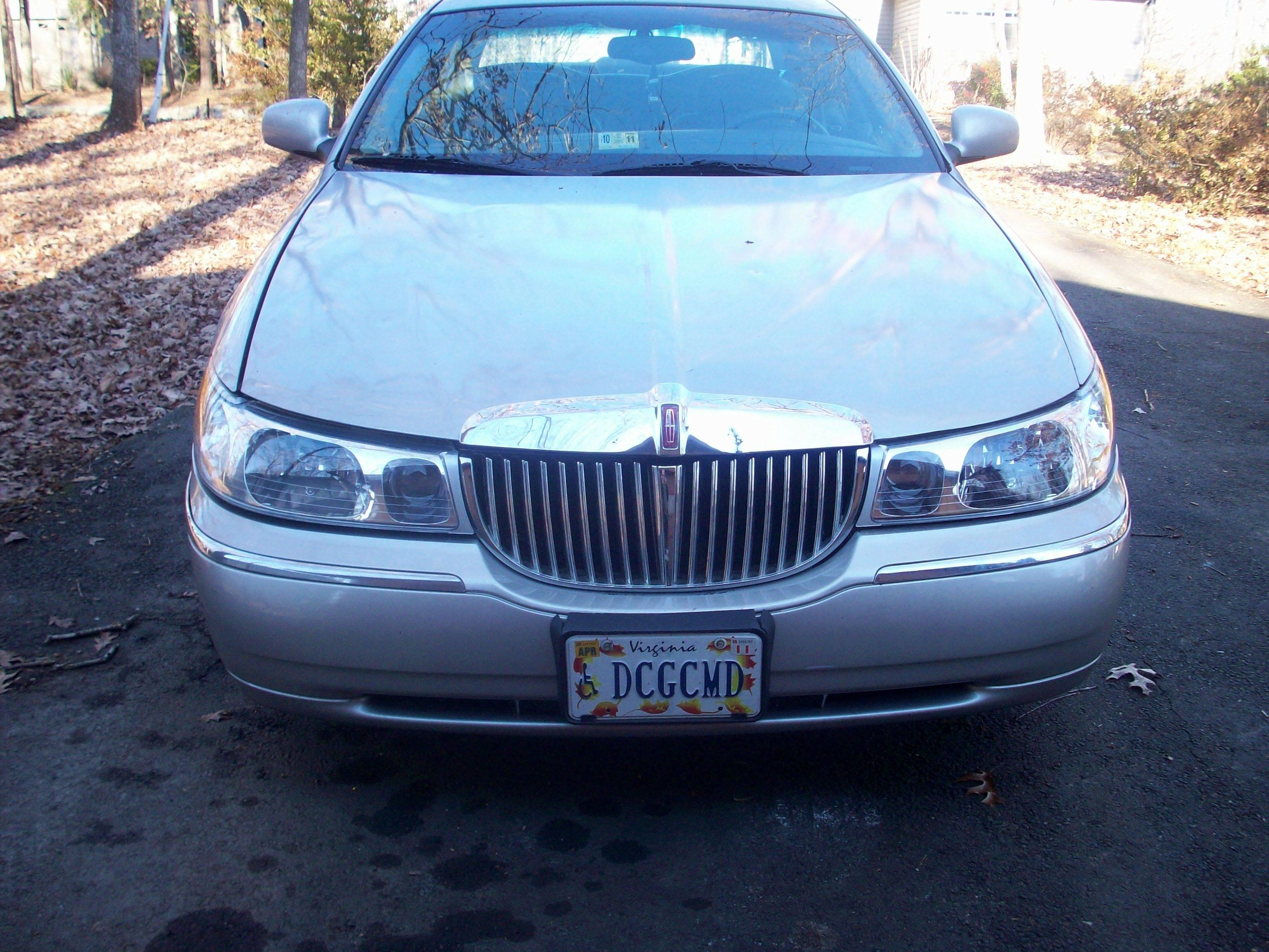 Euro Headlights Lincoln Town Car 1999 Www Topsimages Com