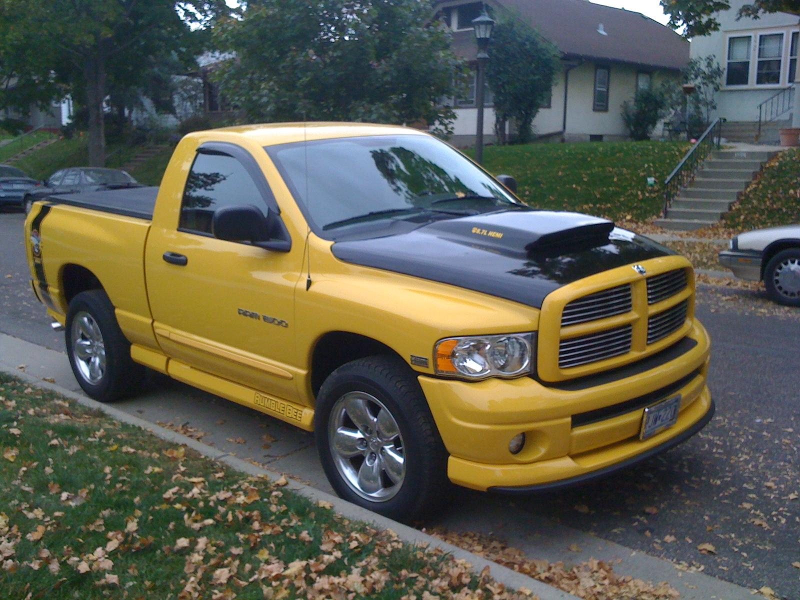KillerBee10 2005 Dodge Ram 1500 Regular CabSLT Pickup 2D 6 1 4 ft
