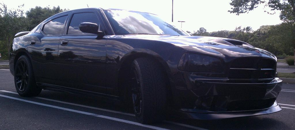 blacked out charger srt8 - photo #41