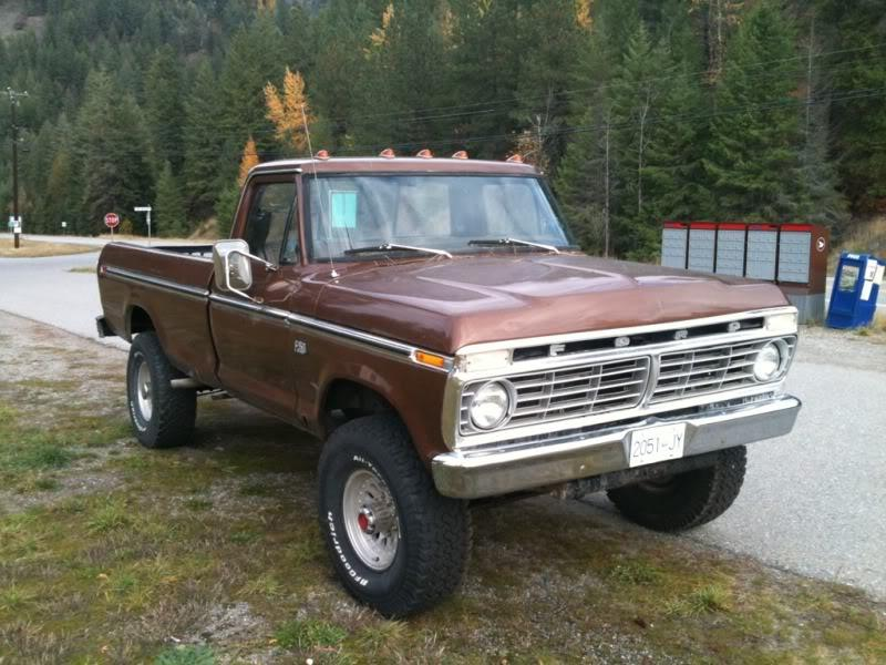 Mopardreads's 1975 Ford F250 Regular Cab in Victoria, BC