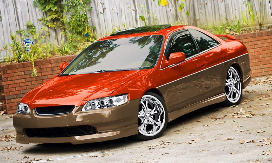 B Dubb 2000 Honda Accordlx Coupe 2d Specs Photos