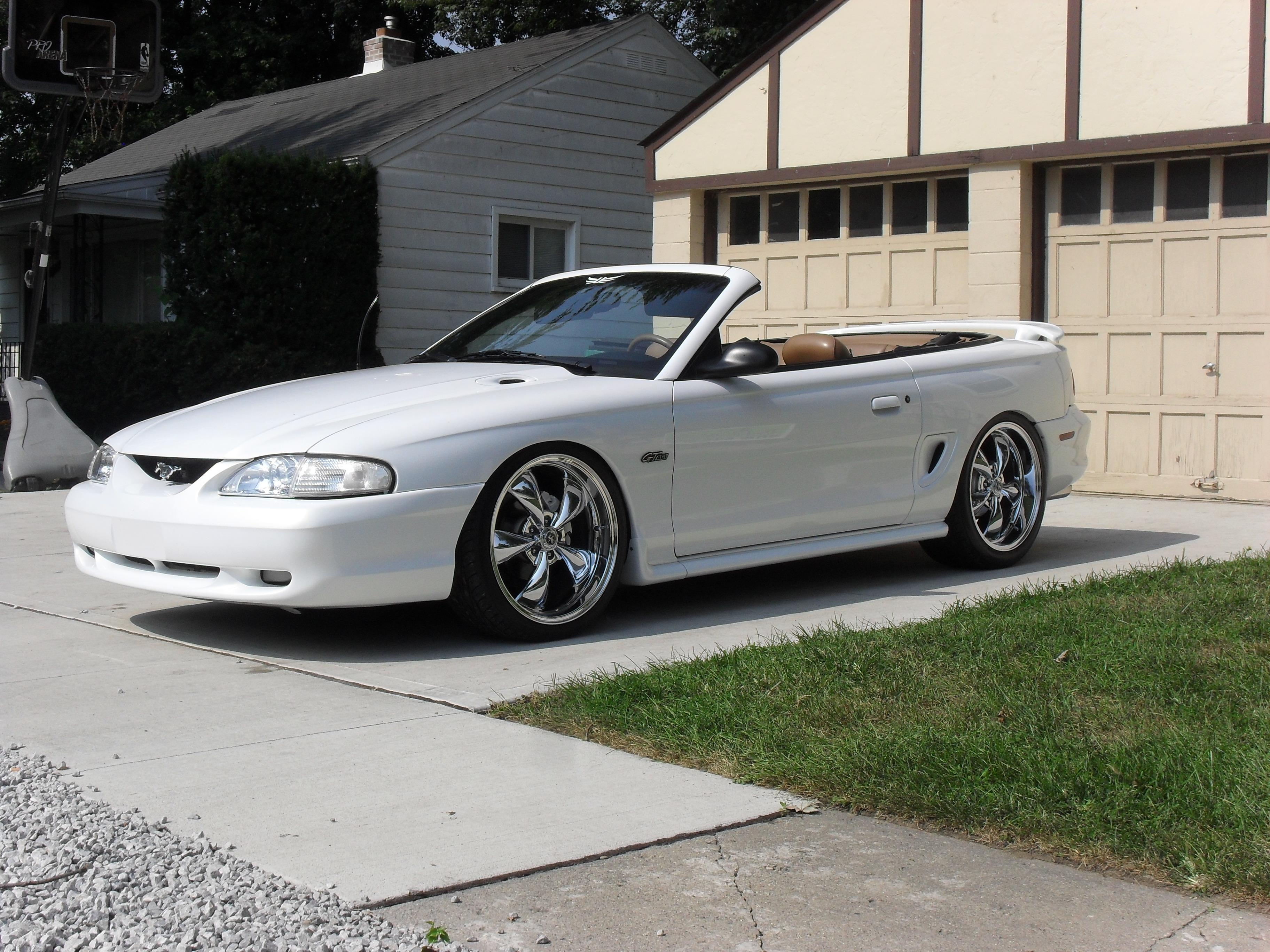 ford mustang 96 convertible
