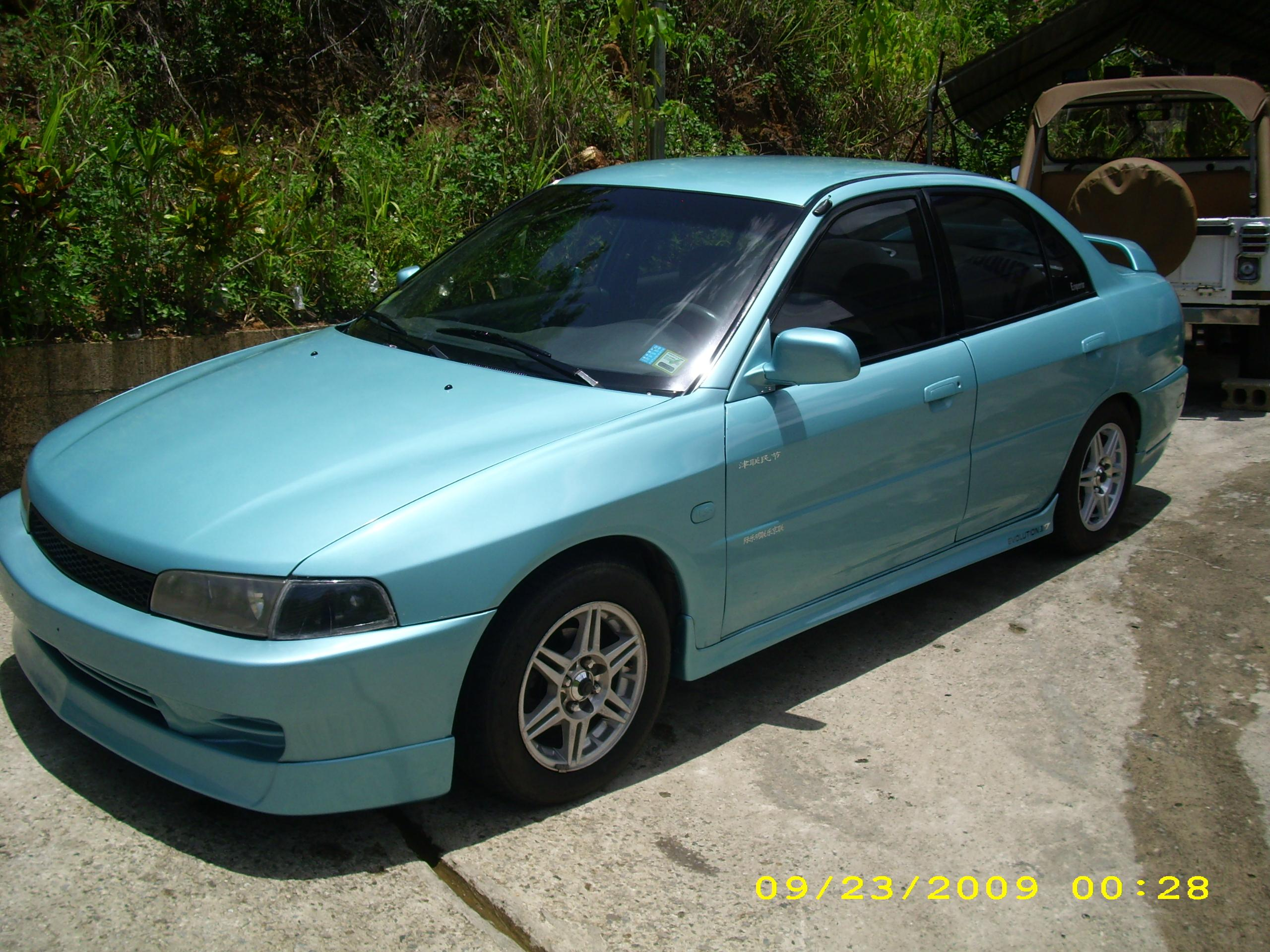 Mirage_85 1997 Mitsubishi MirageLS Sedan 4D Specs, Photos
