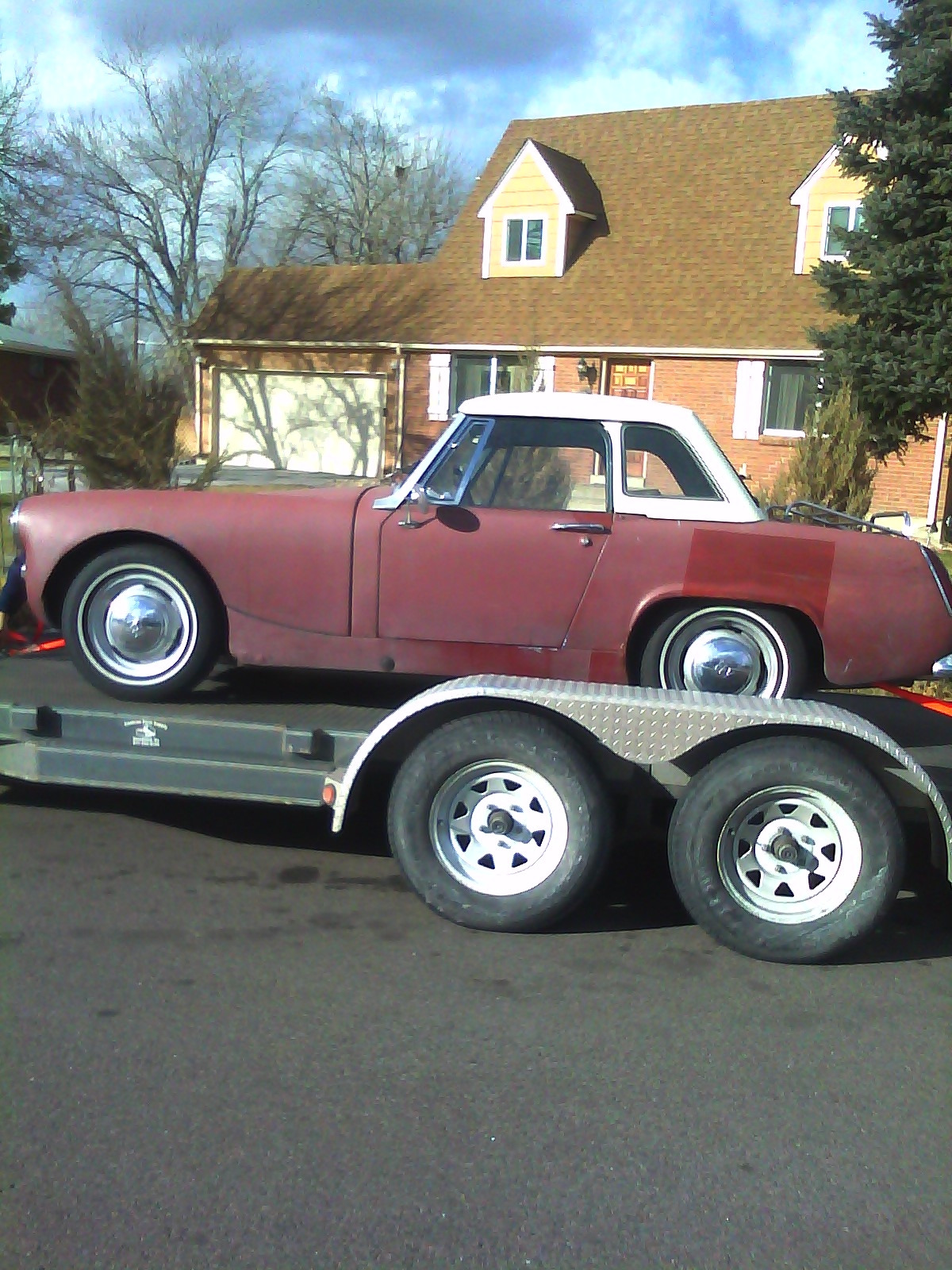 Another poundnlc 1965 Austin-Healey Sprite post... - 14977350