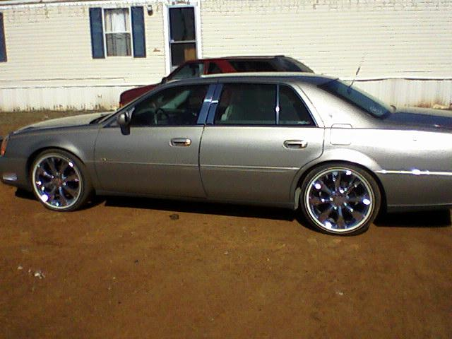 2002 Cadillac DeVille On 20 Inch Rims