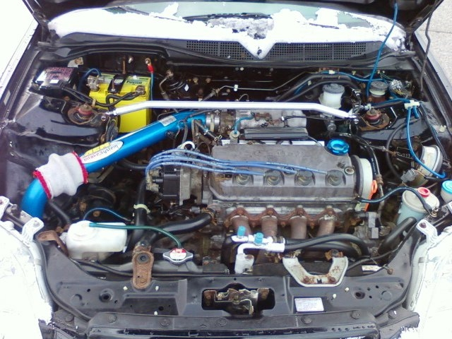 1998 honda civic ex coupe weight